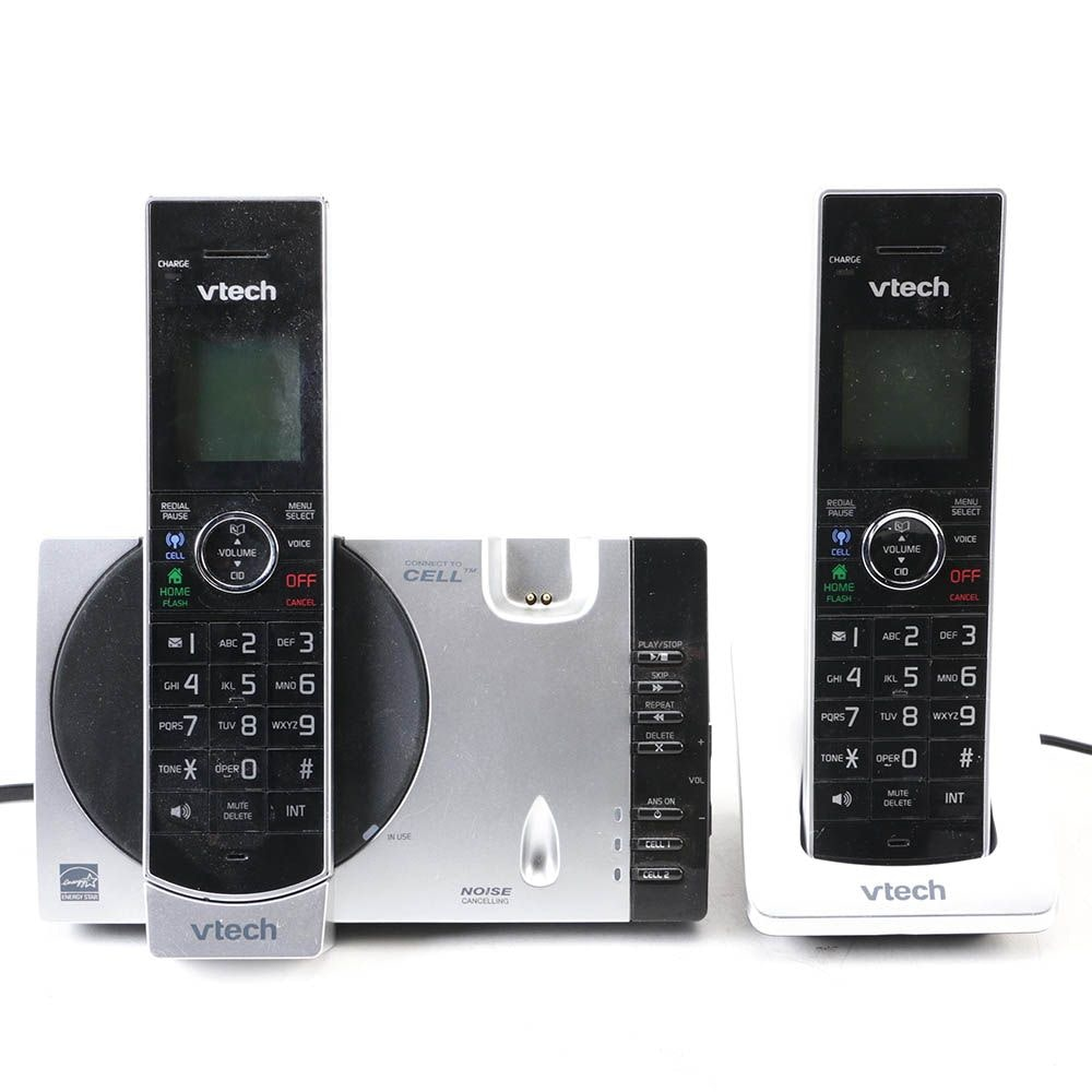 Two VTech Phones And Chargers
