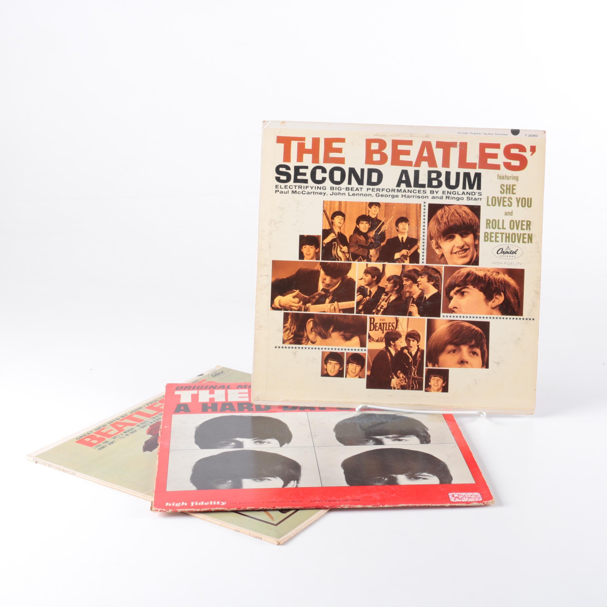 Three Beatles Records