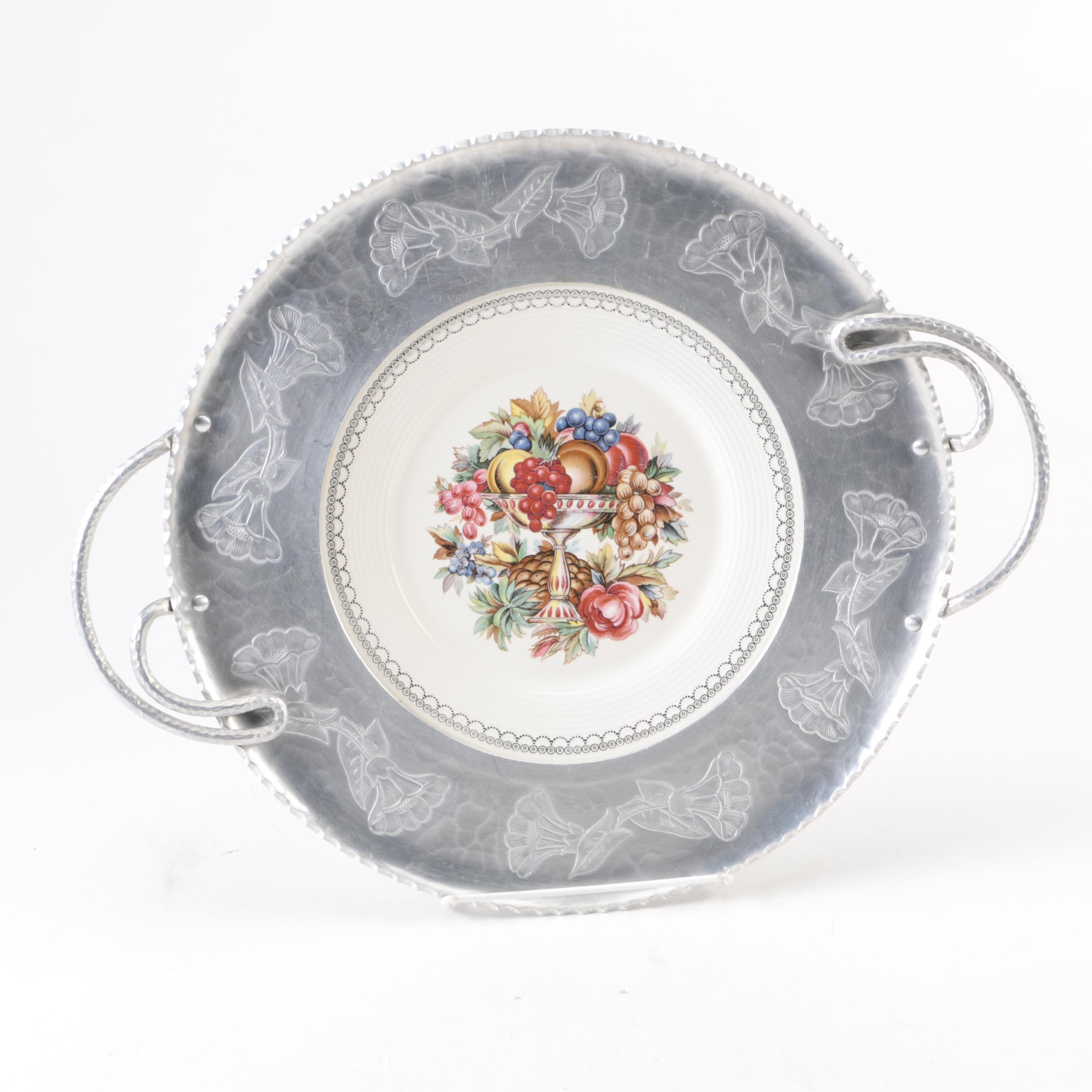 """Limoges-American """"Imperial Victorian"""" Platter"""