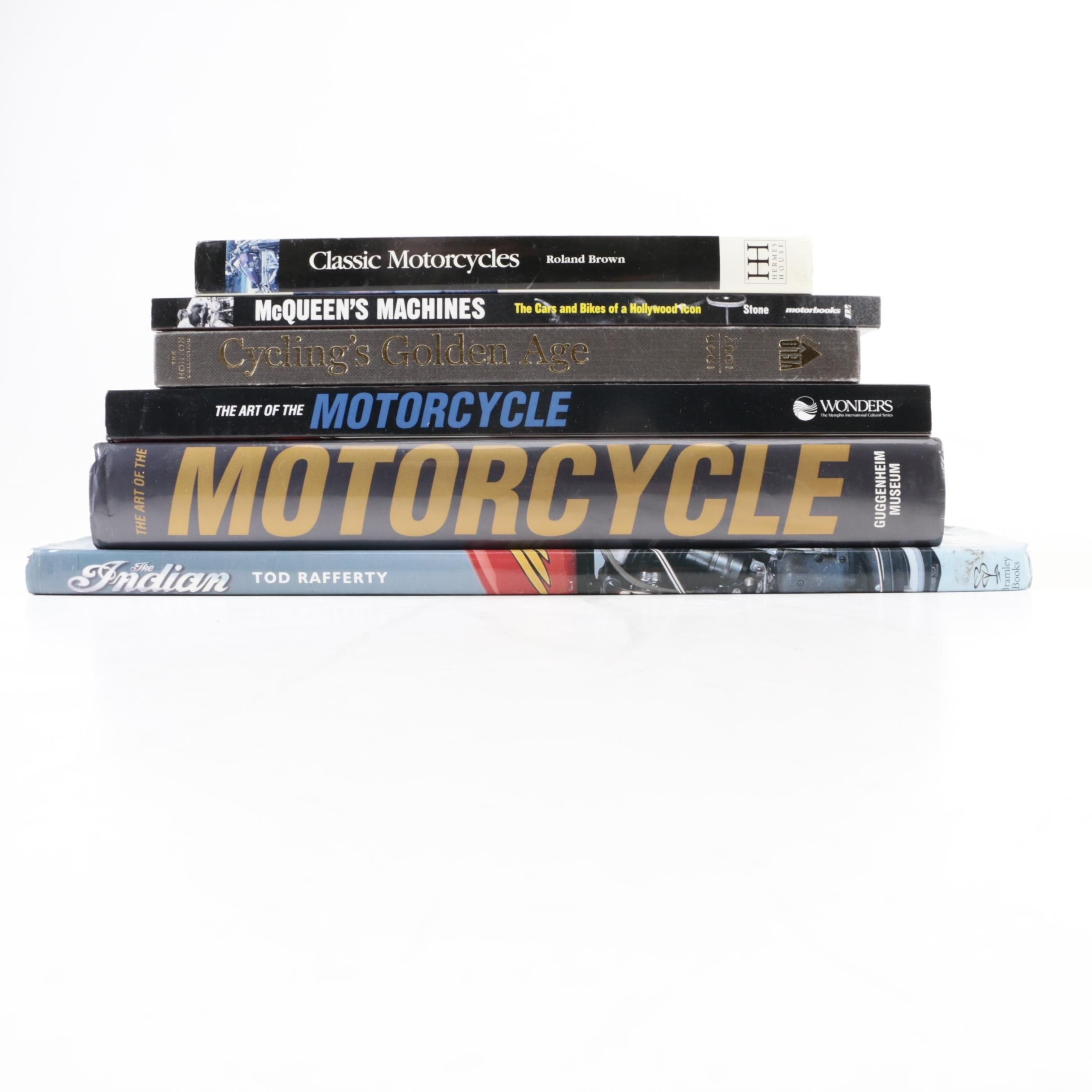 Books on Motorcycles and Cycling