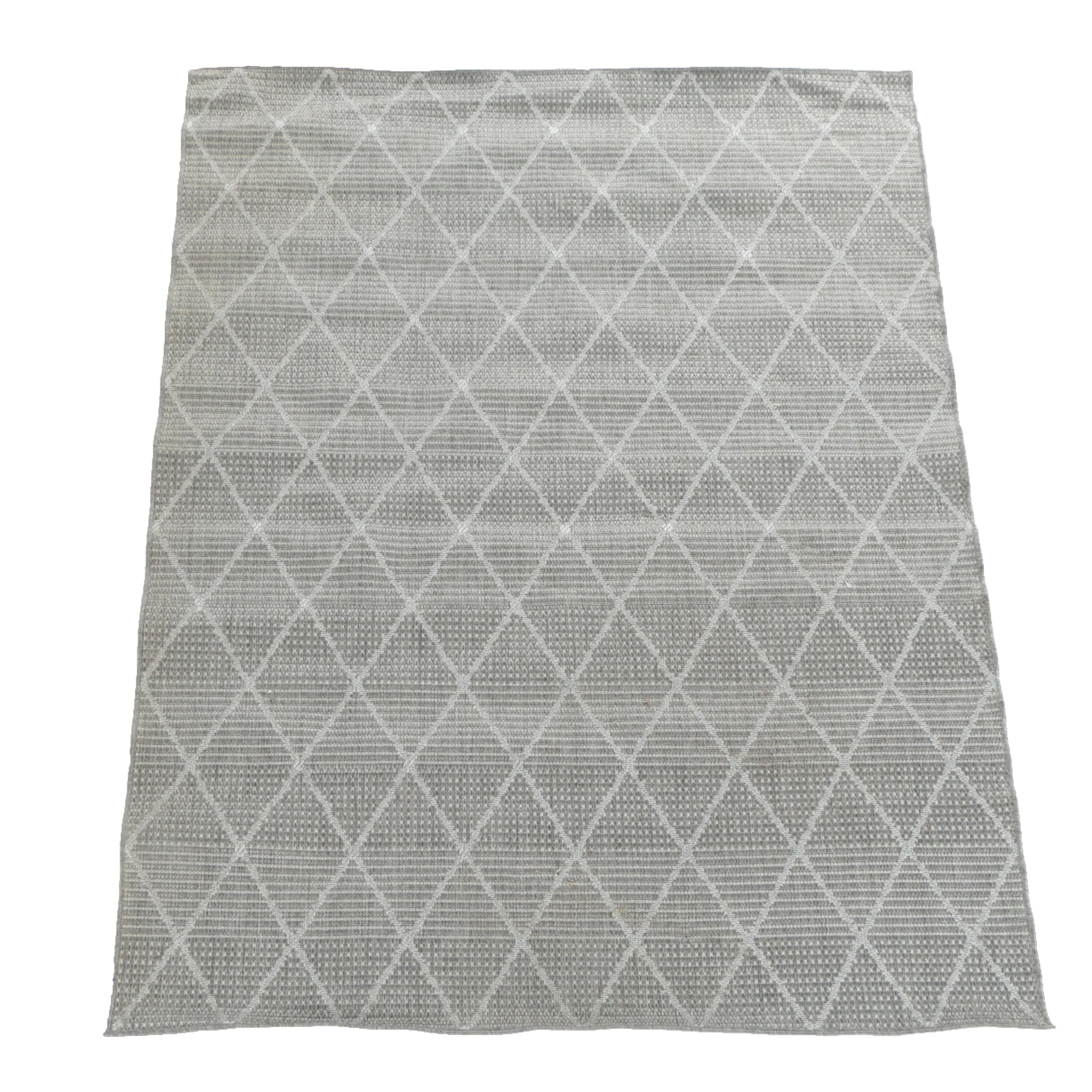 "Power-Loomed Jardin Collection ""Trellis"" Synthetic Area Rug"