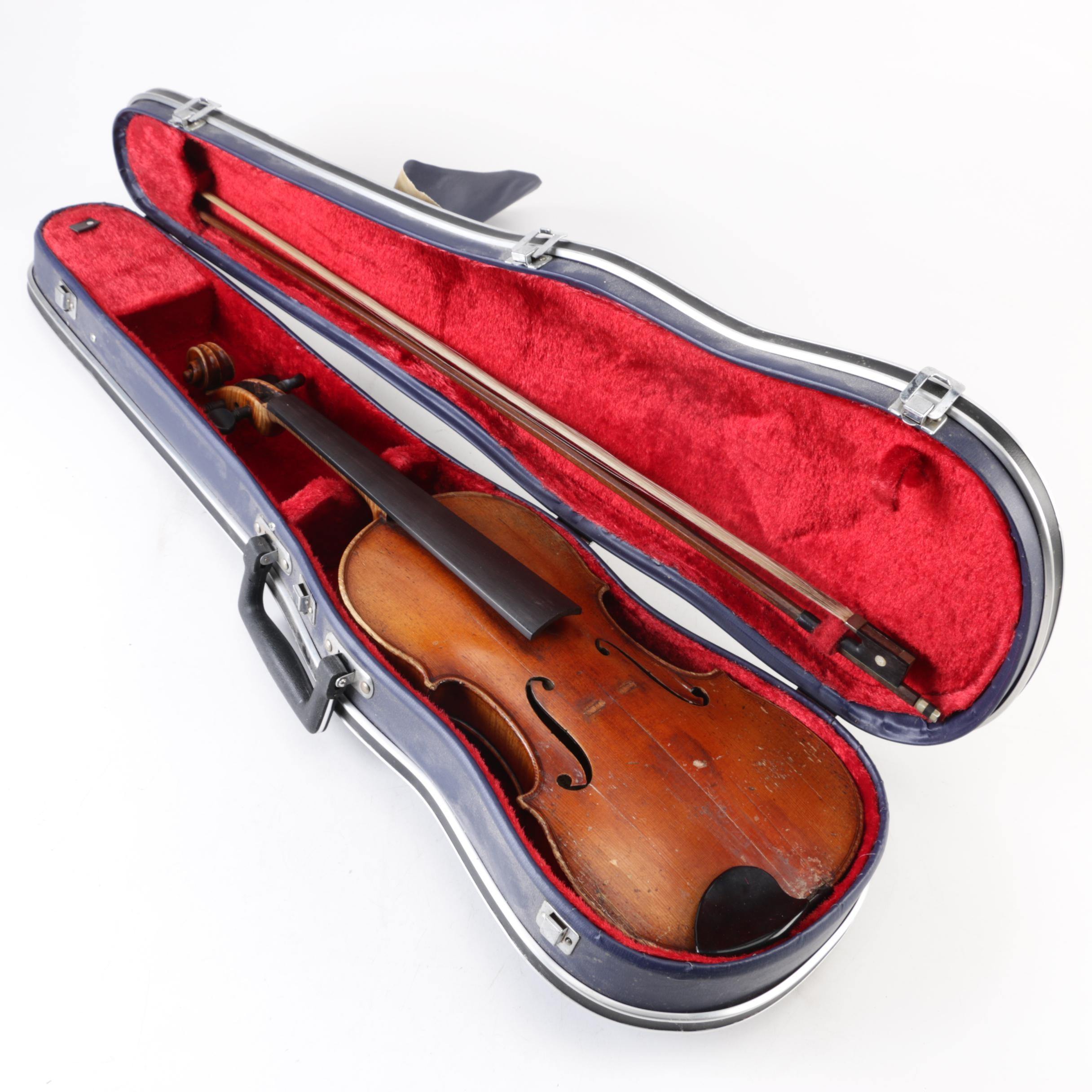 Monarch 3/4 Size Violin with Case