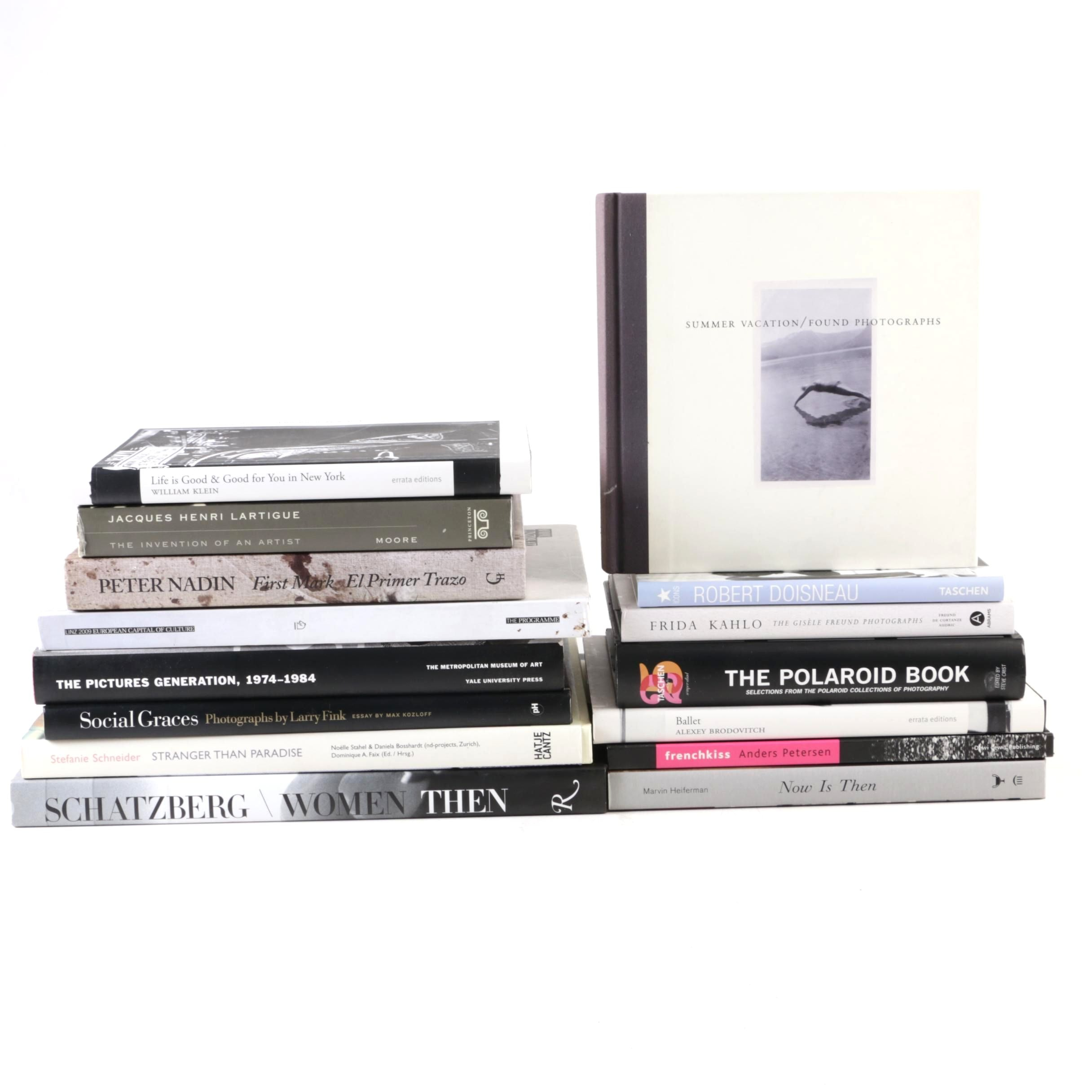 "Photography Books Including Stefanie Schneider and ""The Polaroid Book"""