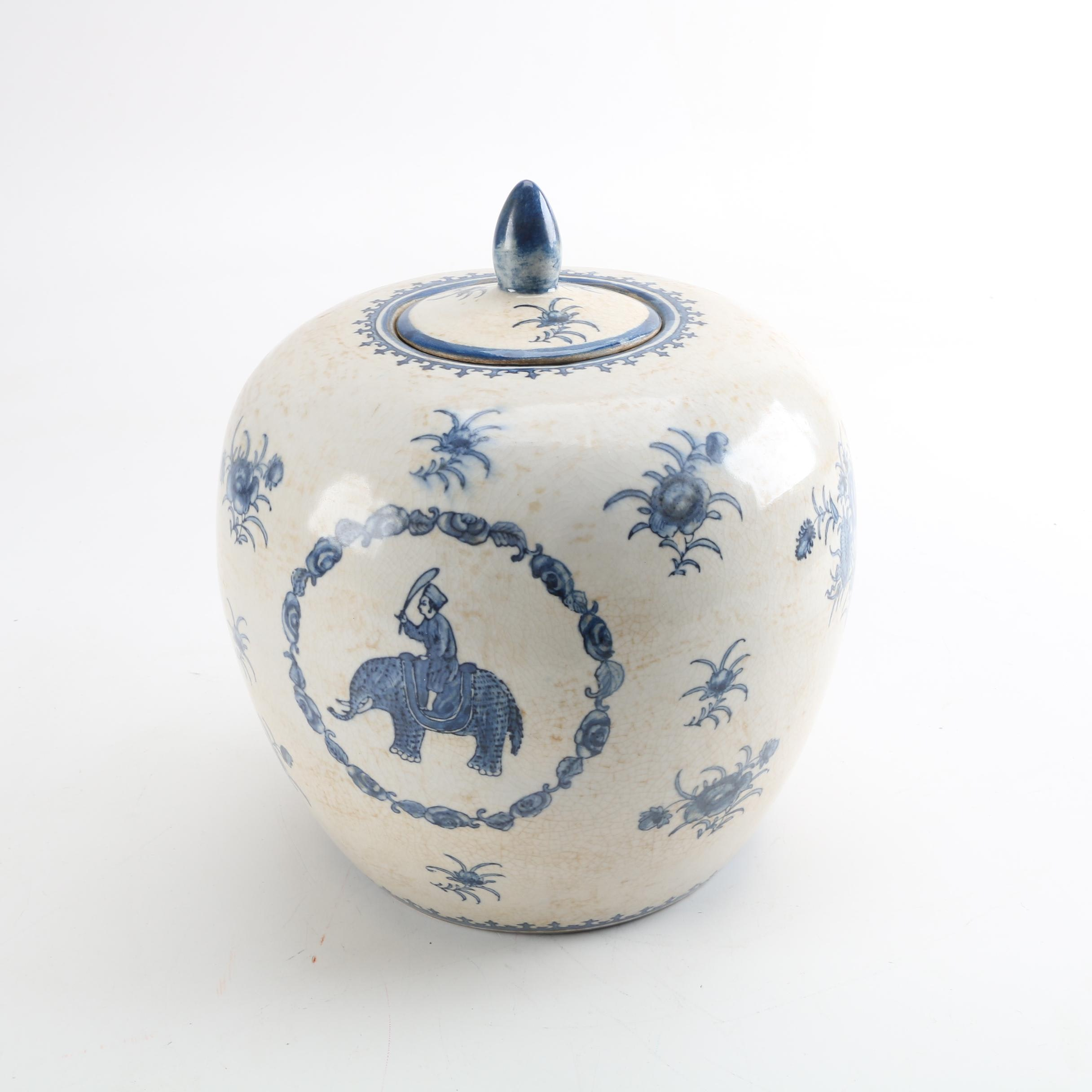 Chinese Decorative Ceramic Jar