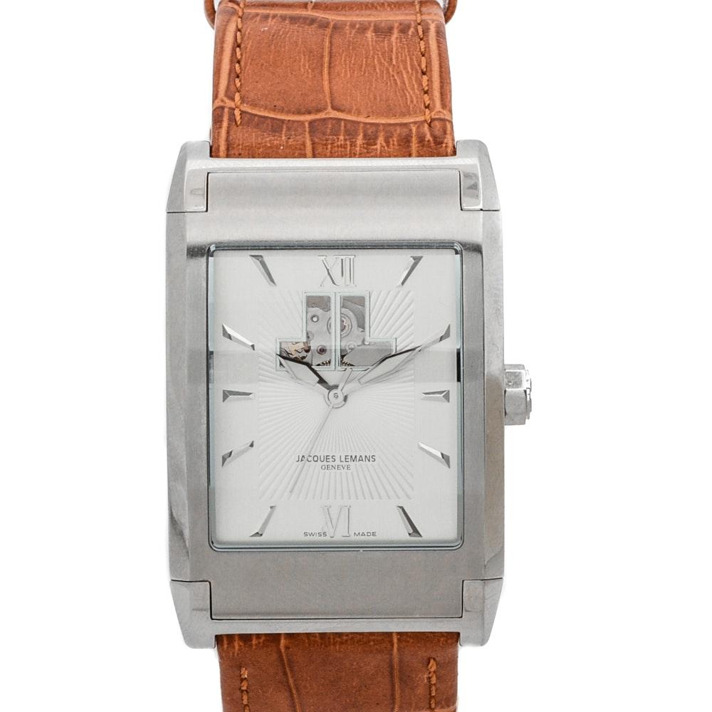 "Jacques Lemans ""Sigma"" Automatic Swiss Wristwatch"