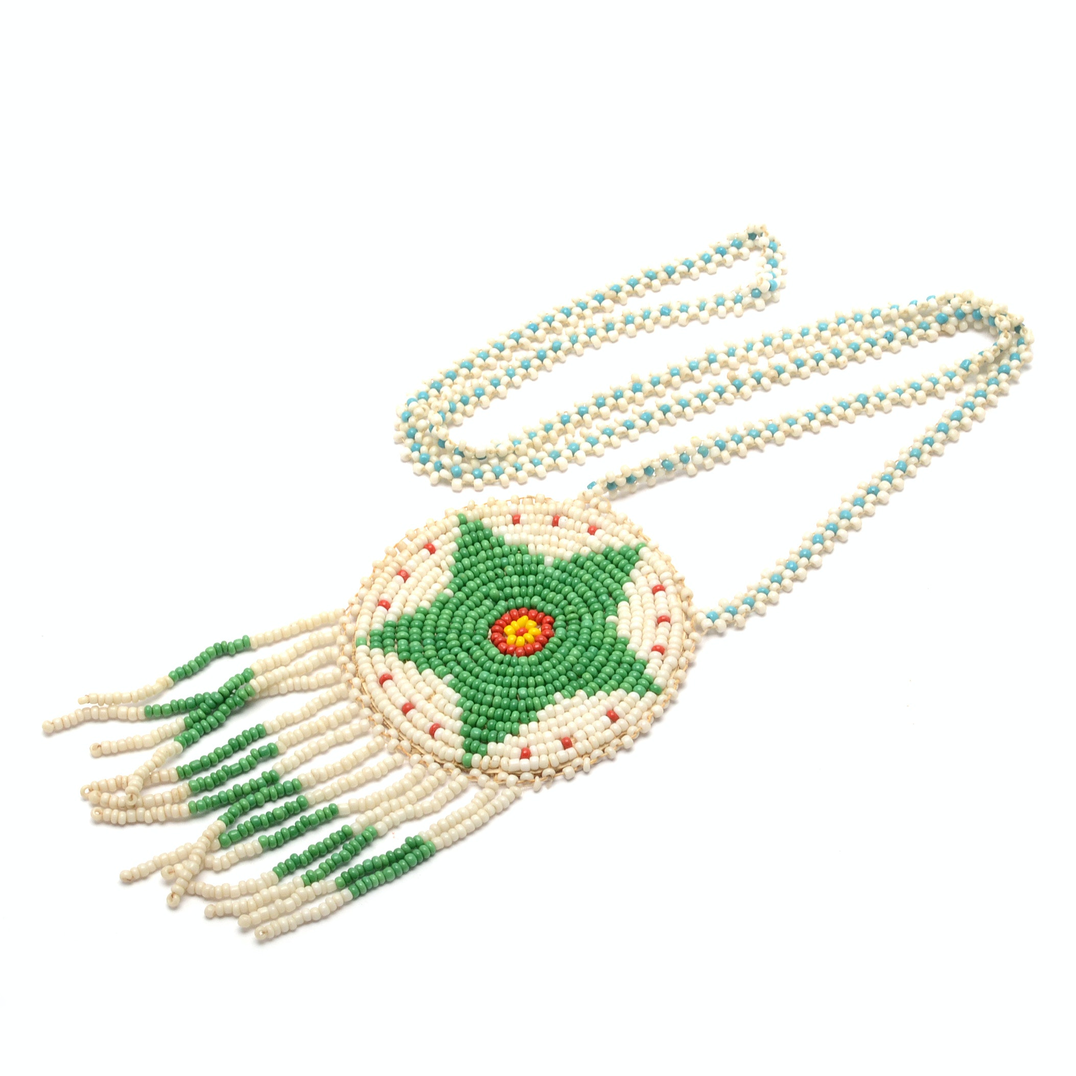 Southwest Style Seed Bead Necklace