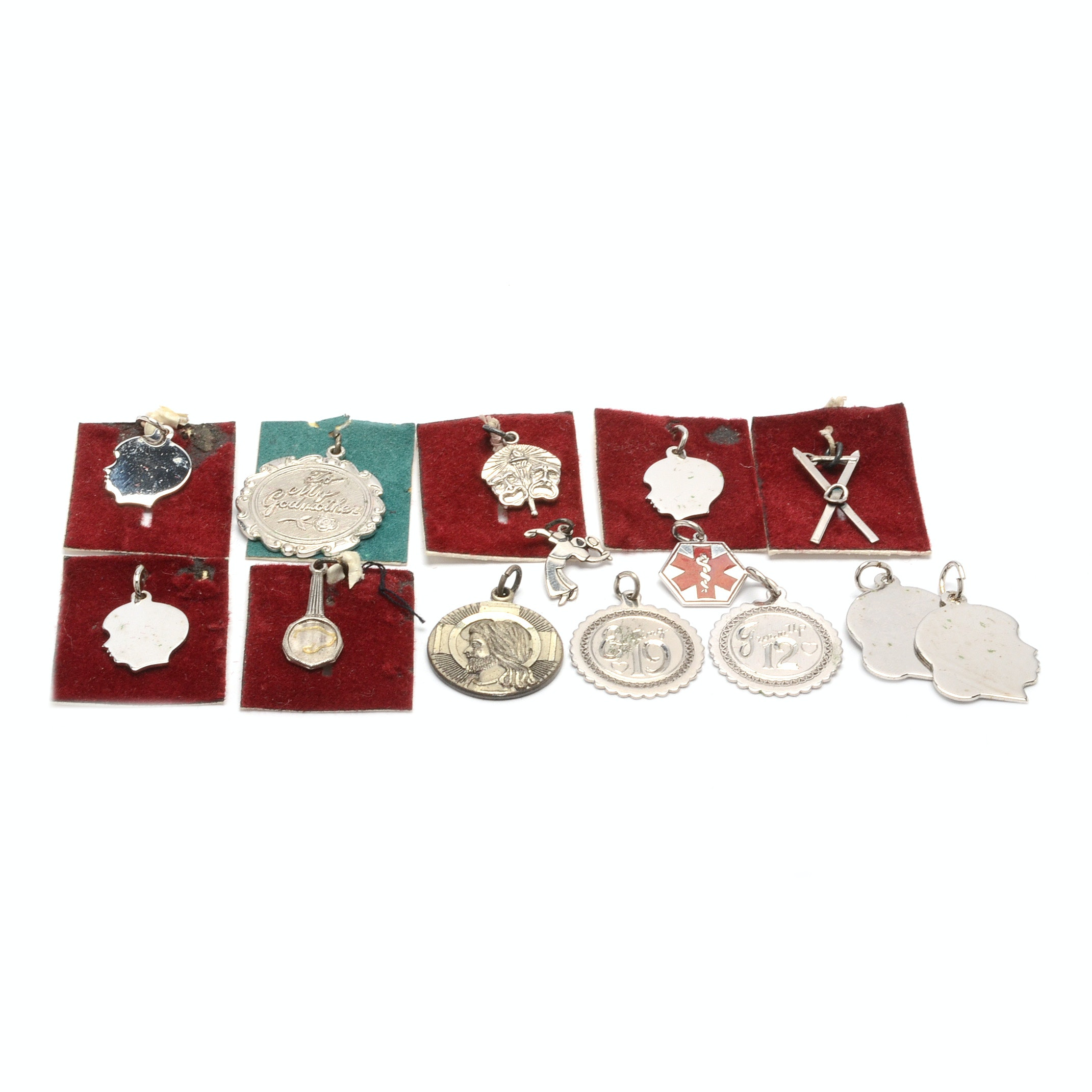 Vintage Sterling Silver Charms