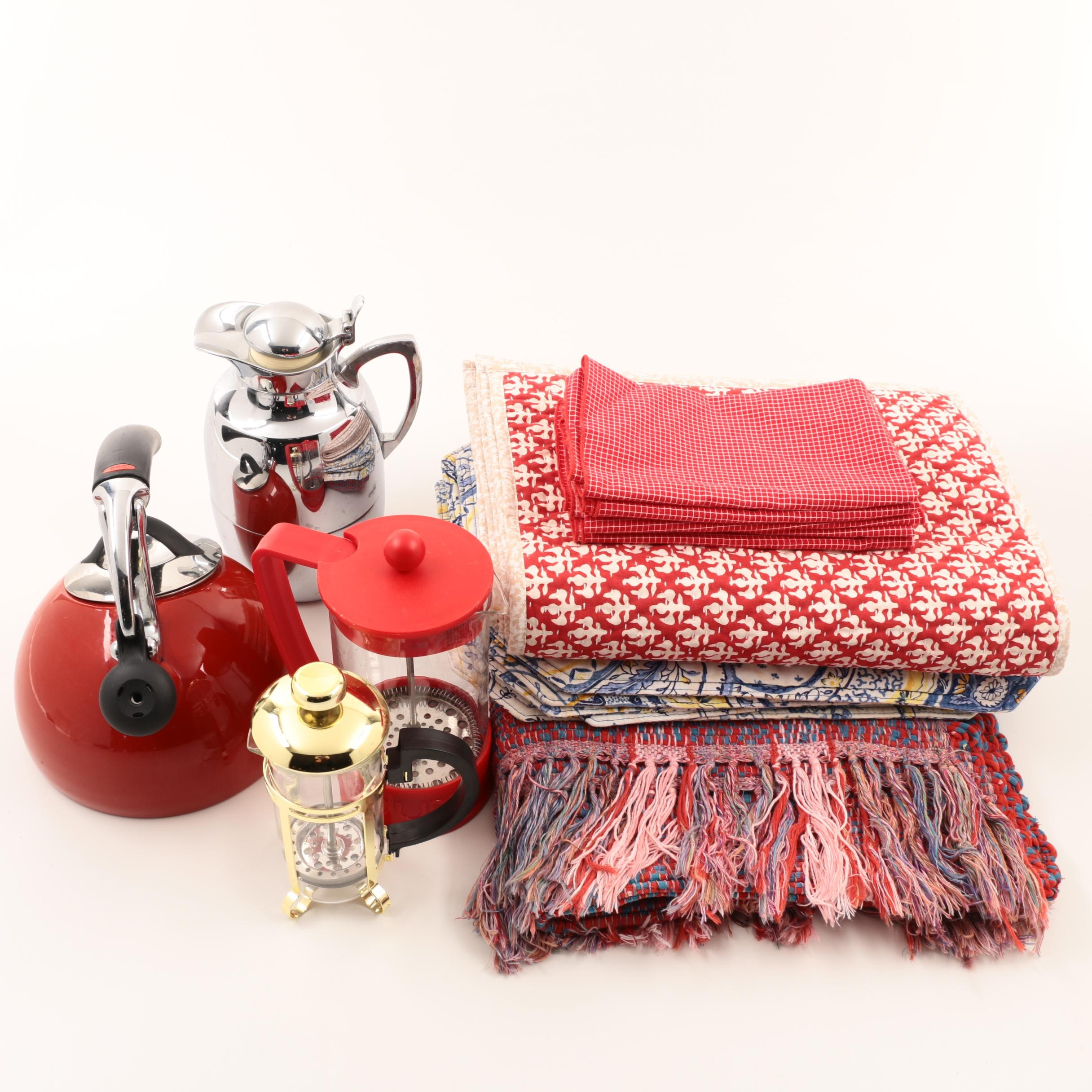 Kitchen Items And Table Linens