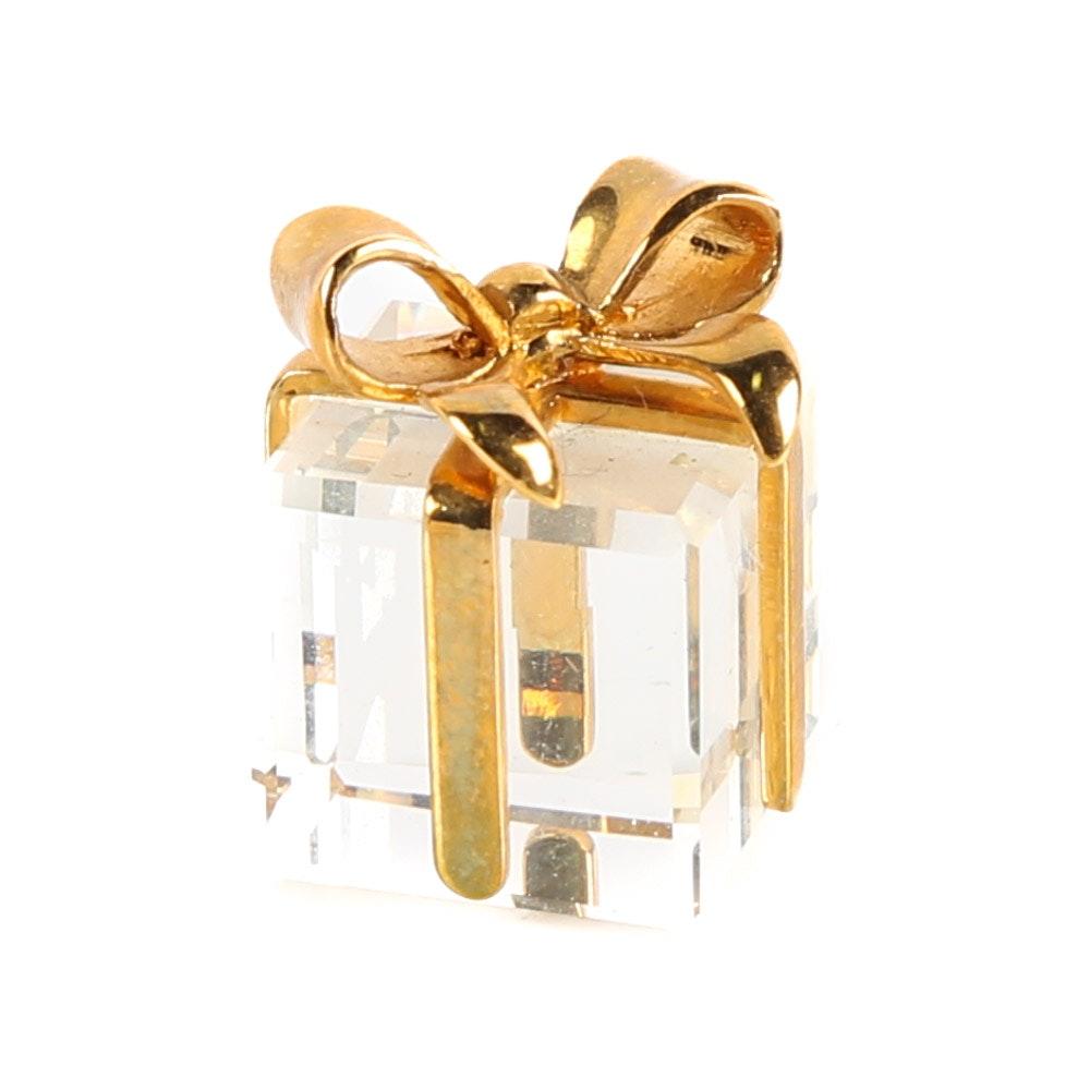 Swarovski Miniature Crystal Gift Box