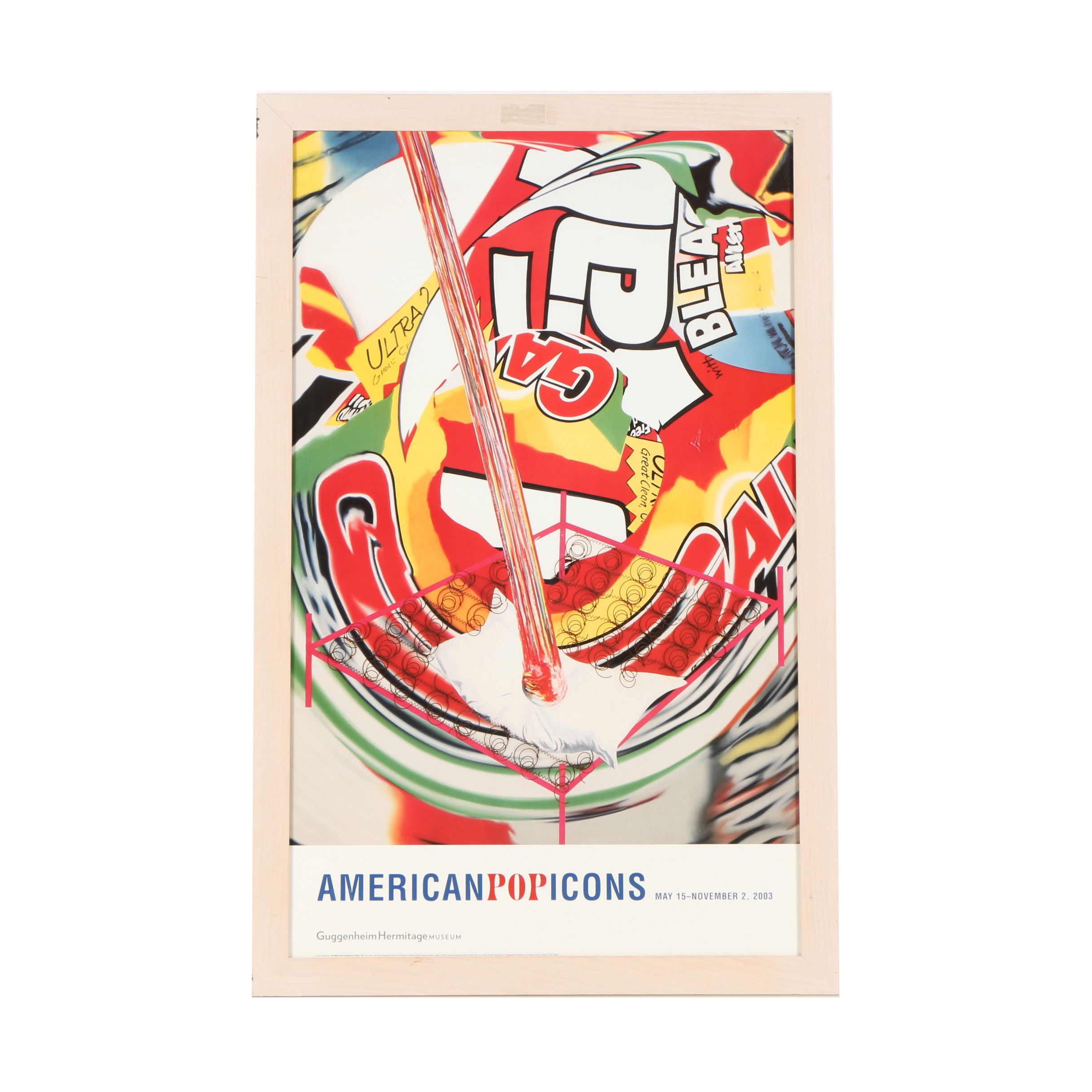"""Offset Lithograph After James Rosenquist """"The Meteor Hits the Swimmer's Pillow"""""""