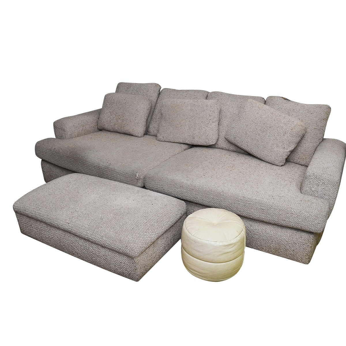 Oversized Sofa with Ottoman by Stanton Industries