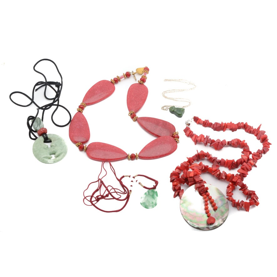 Assorted Costume Jewelry Necklaces  sc 1 st  EBTH.com & Assorted Jewelry in Fine Jewelry Designer Accessories Vintage ...
