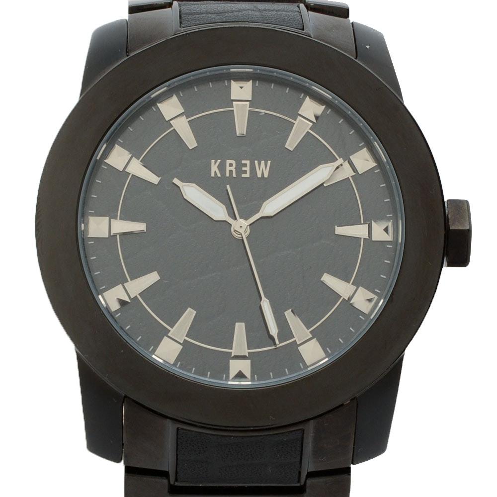 """KR3W """"Prodigal"""" Stainless Steel Wristwatch"""