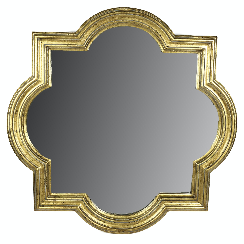 Barbed Quatrefoil Wall Mirror