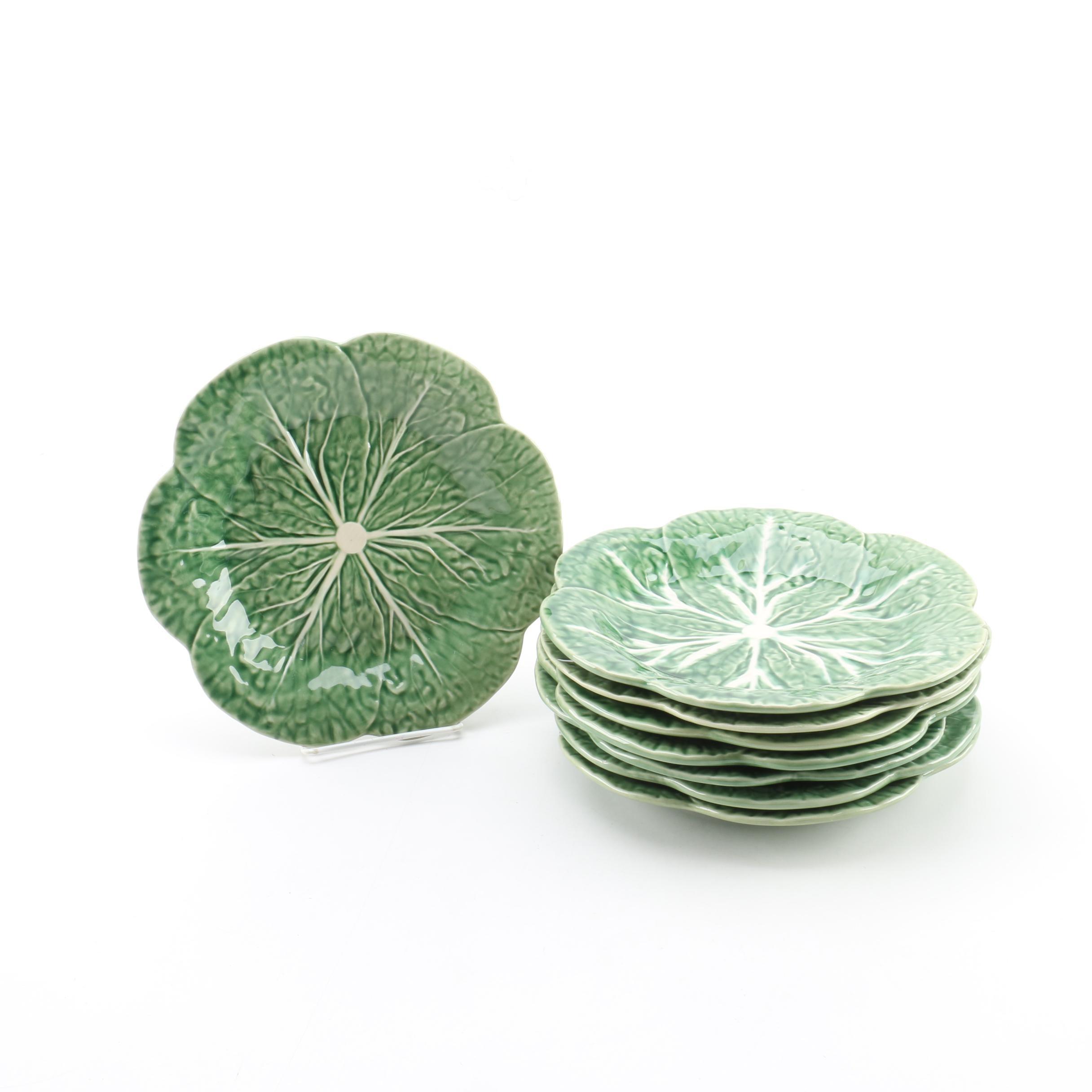 Sur La Table Portuguese Majolica Style Plates