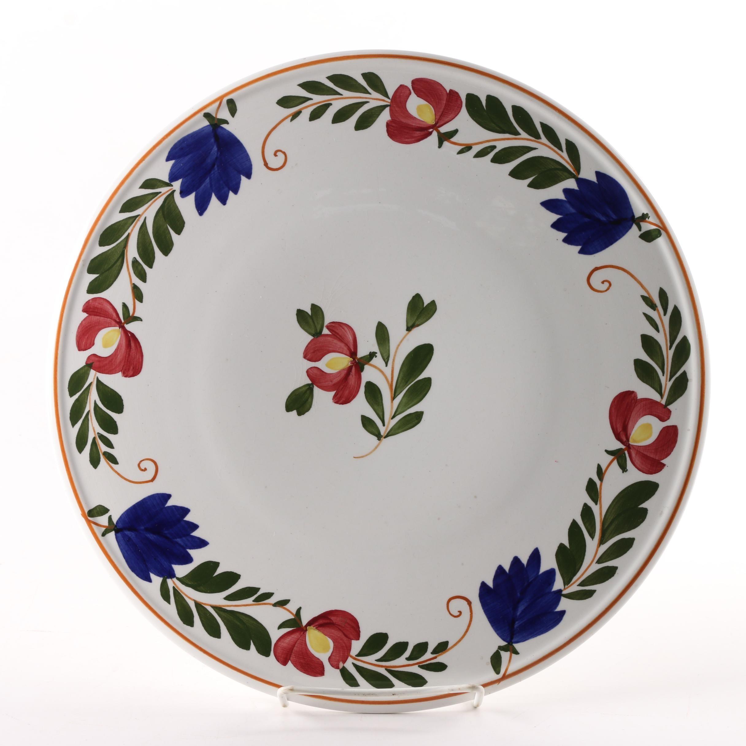 Société Céramique Maestricht Cake Plate