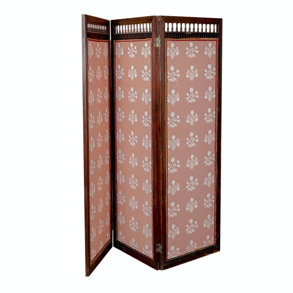 Upholstered Wooden Screen