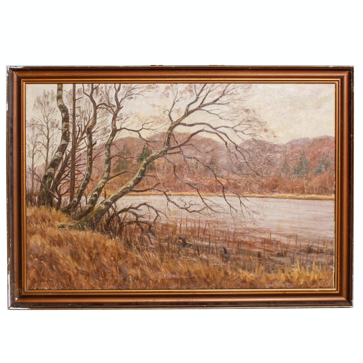 Carl Petersen Oil Painting