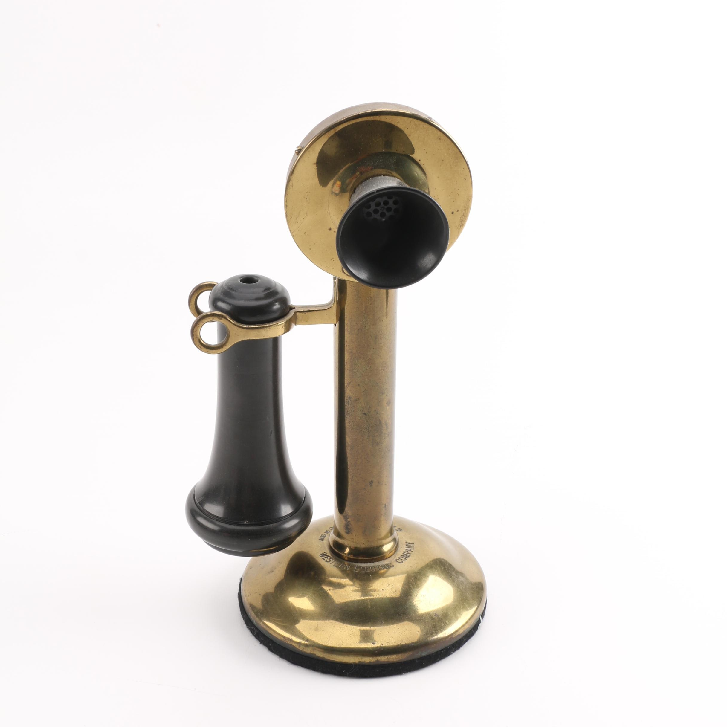Vintage Candlestick Phone by The American Bell Telephone Company