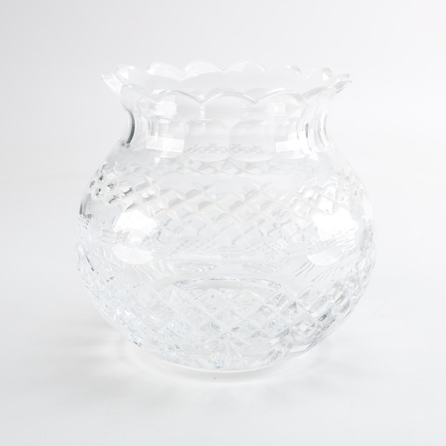 Waterford Martha Washington Unity Vase Ebth