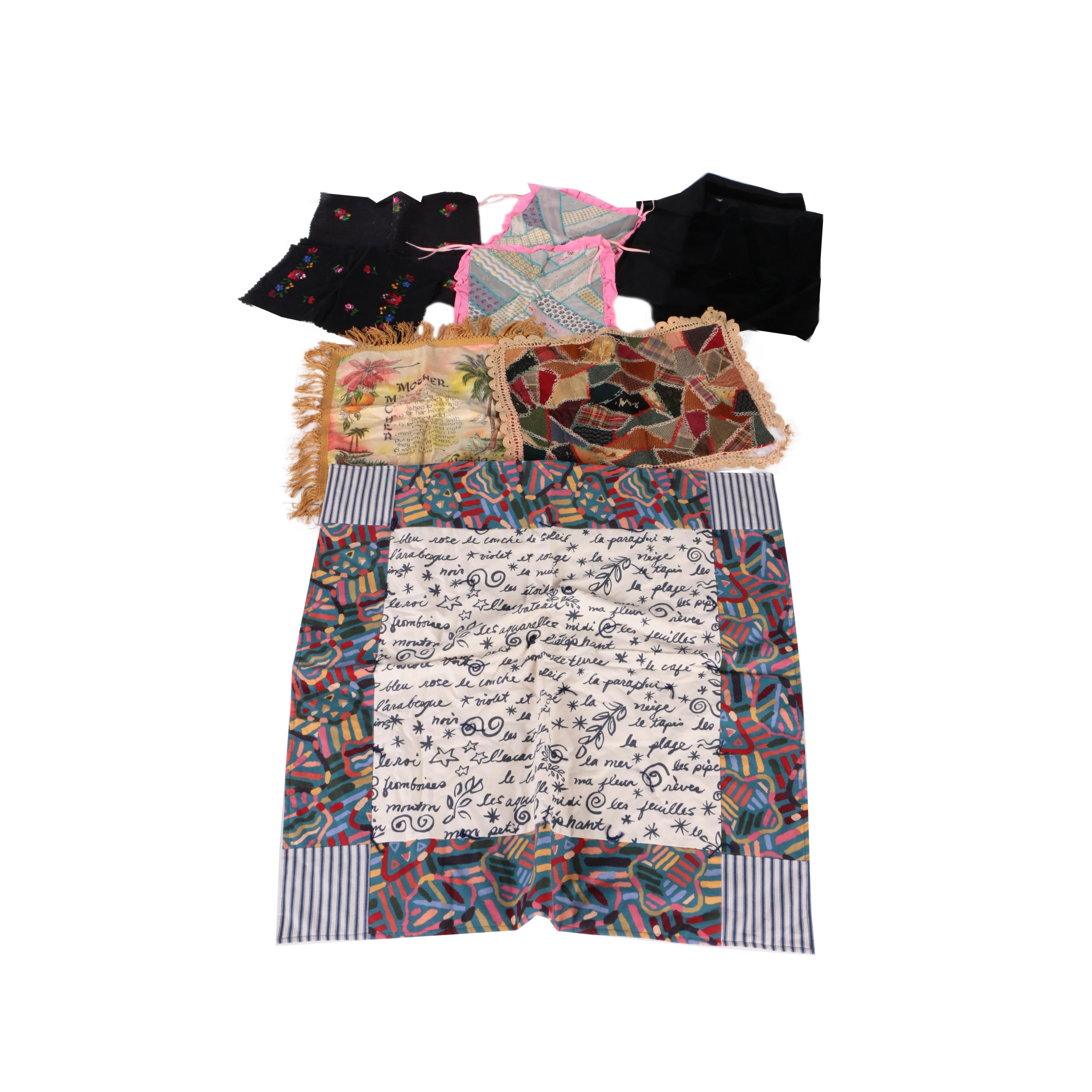 Collection of Patterned Textiles