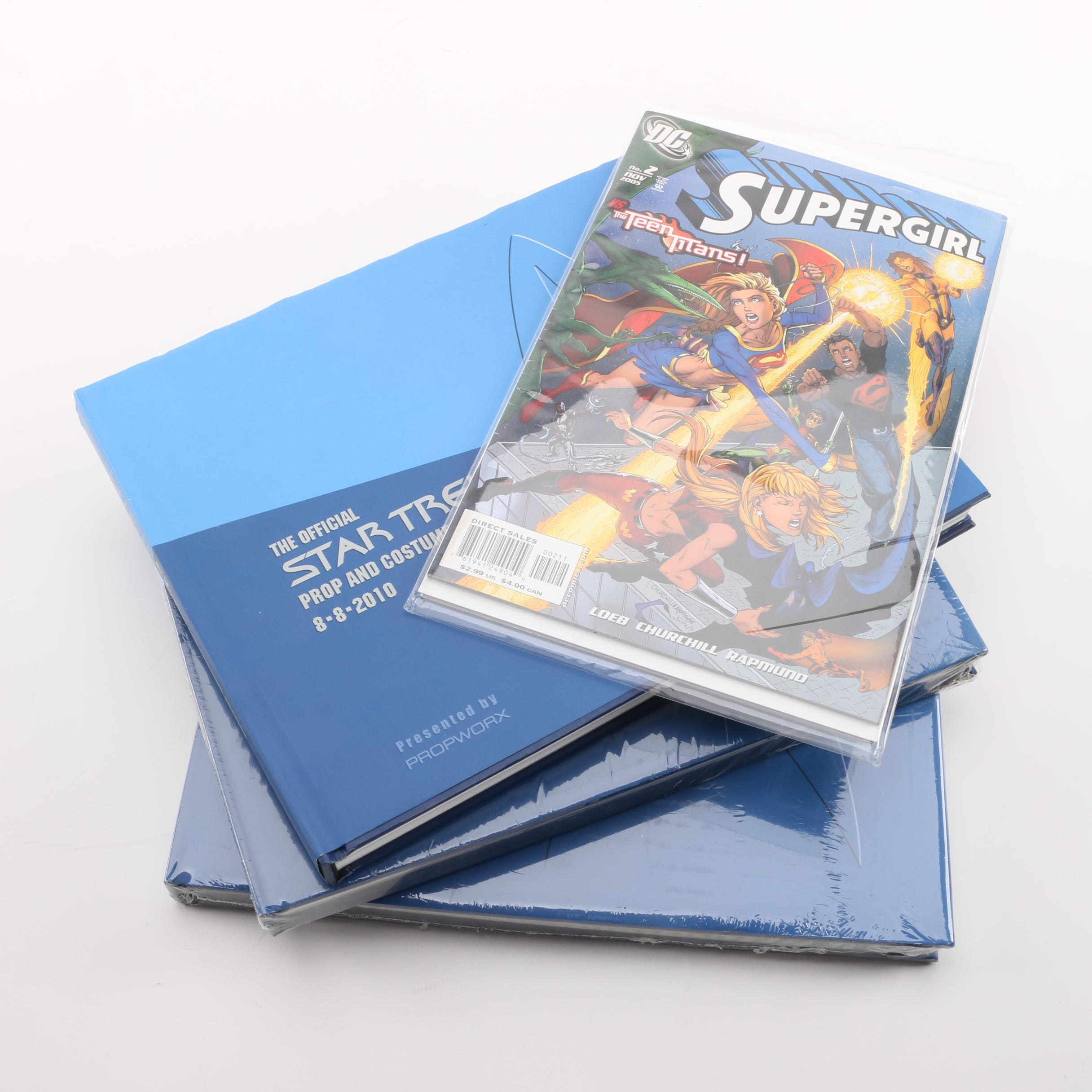 "Modern Age ""Supergirl"" and ""Spirit"" Comics with 2010 ""Star Trek"" Auction Guides"