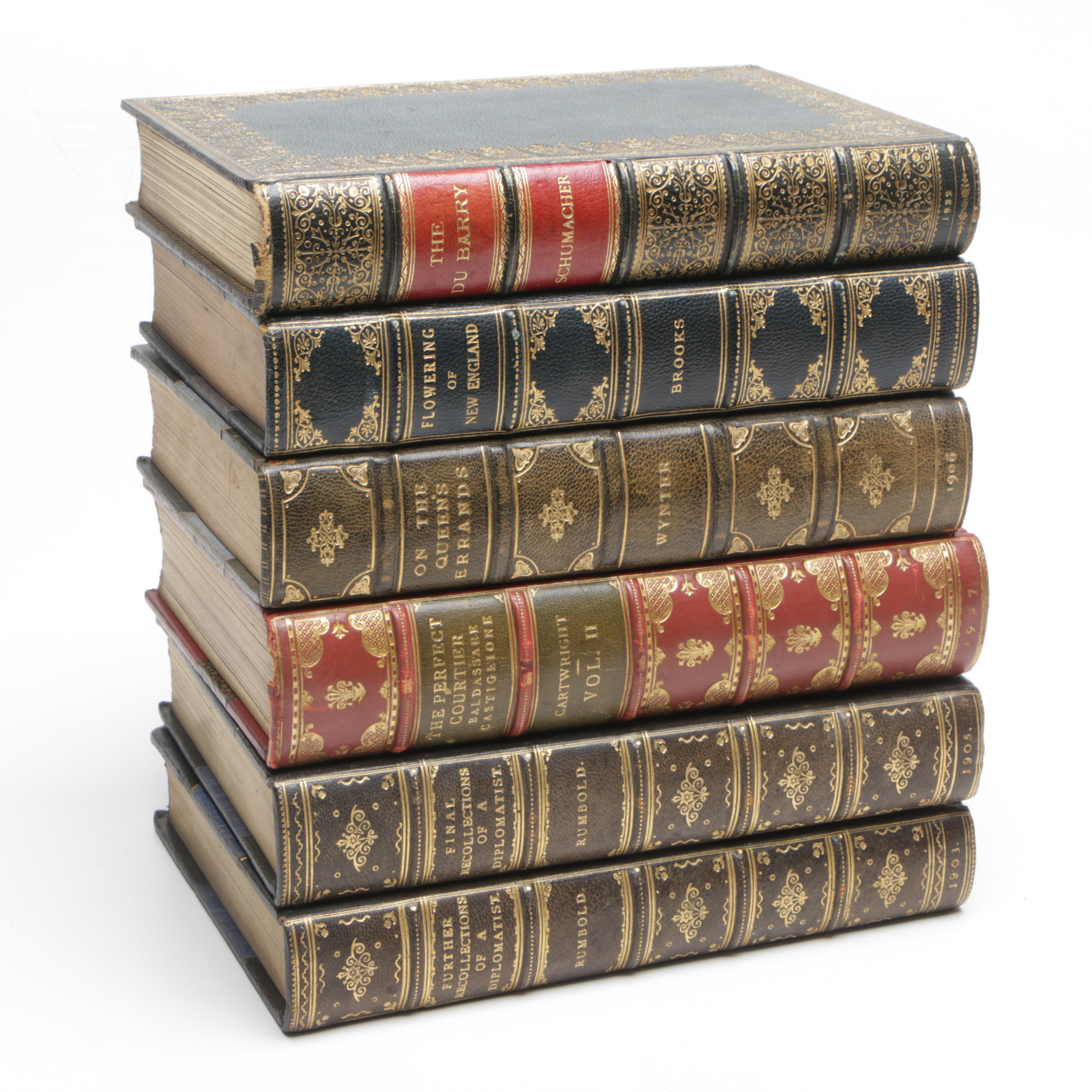 """""""The Du Barr"""", """"Flowering of New England""""and Other Antiquarian Non-Fiction Books"""