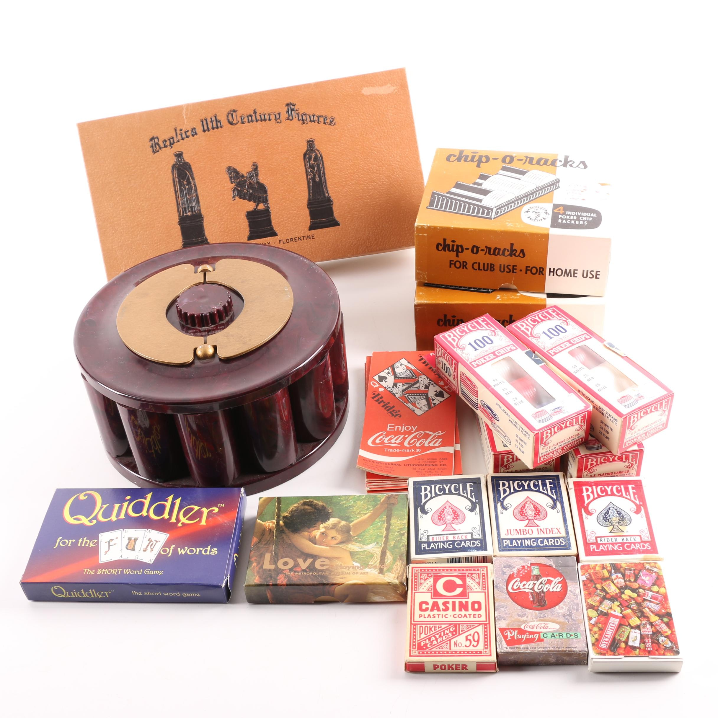Playing Cards, Poker Chips and Table Games