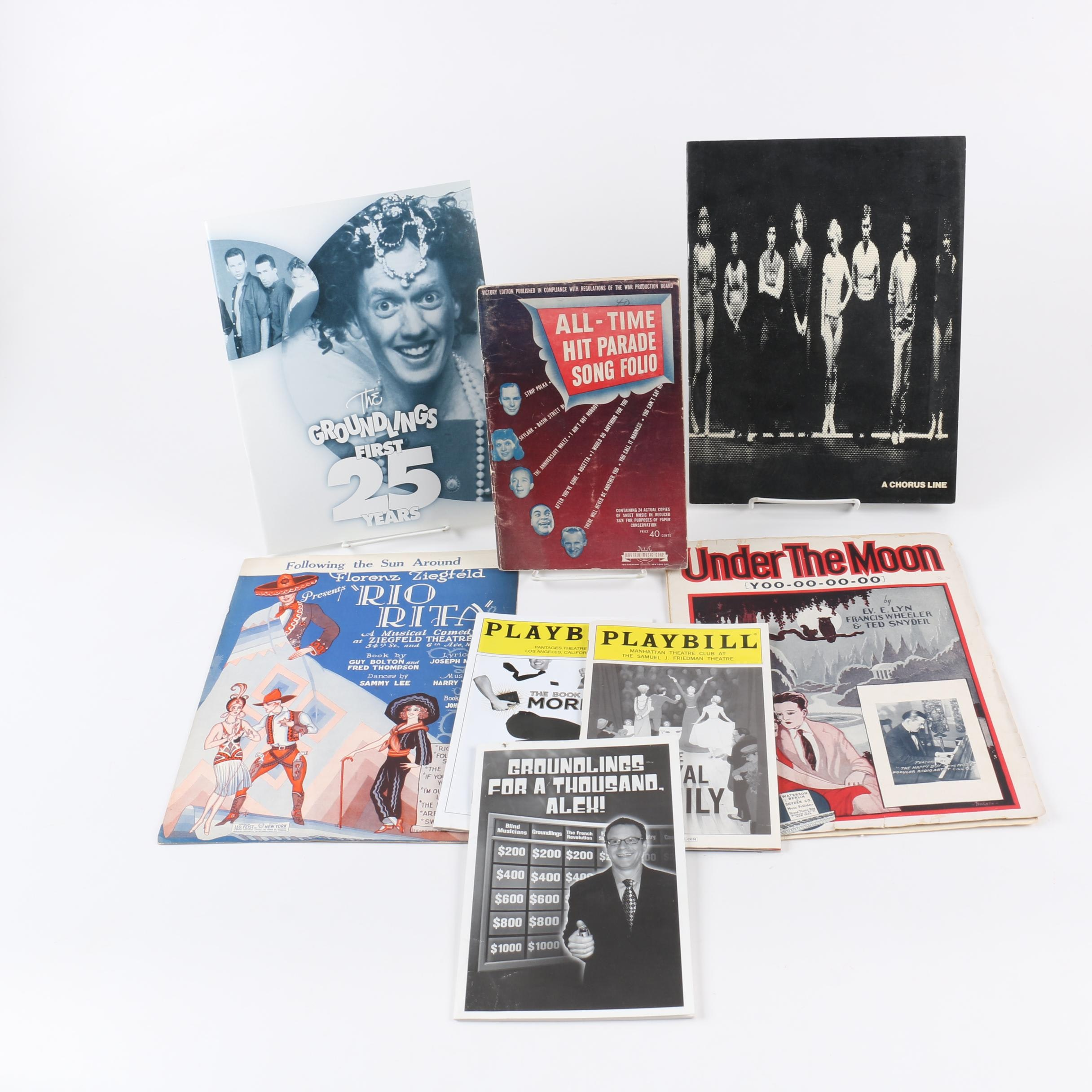 Sheet Music and Playbill Collection