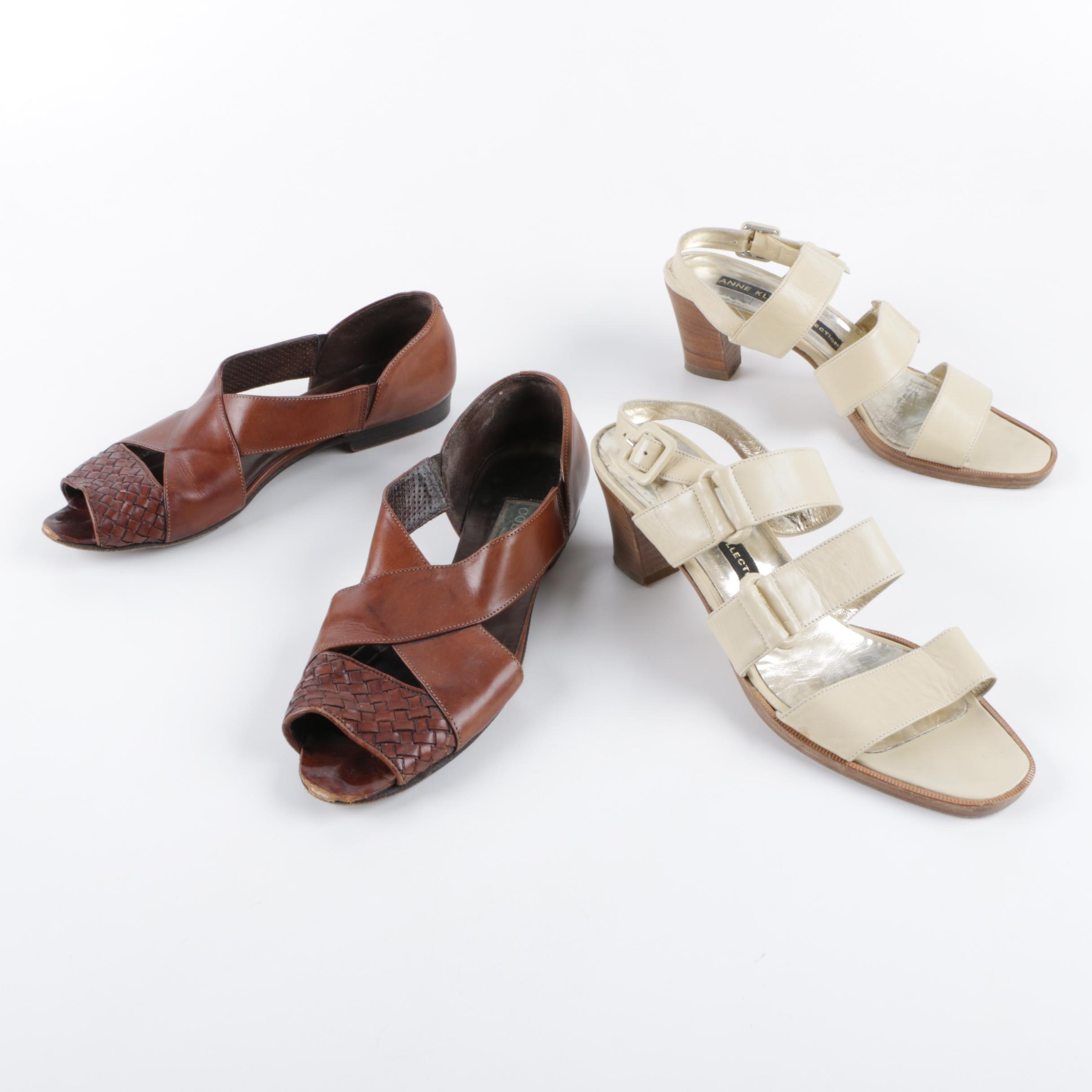 Women's Anne Klein and Cole Haan Sandals