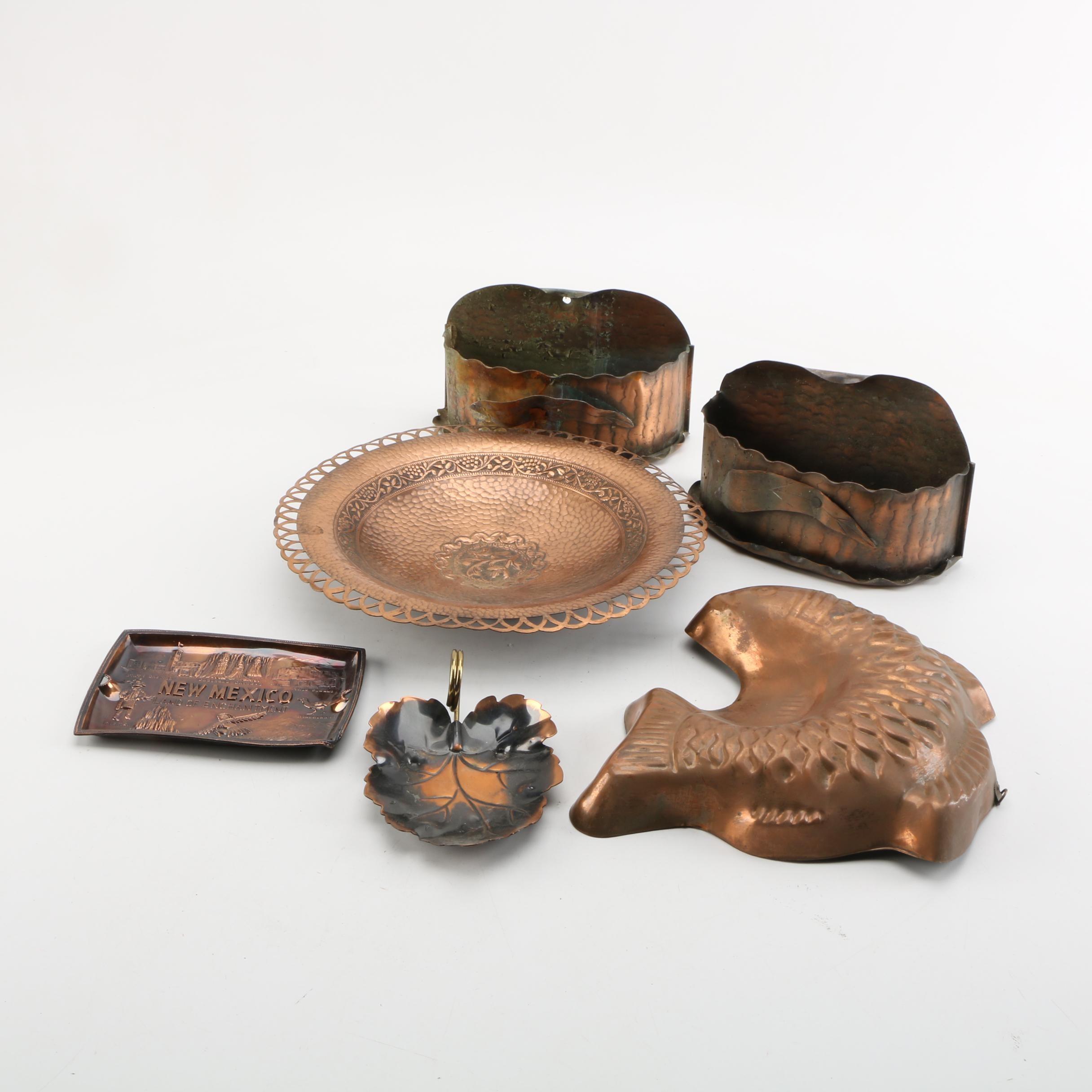 Copper Fish Baking Mold, Serveware and Kitchen Accessories