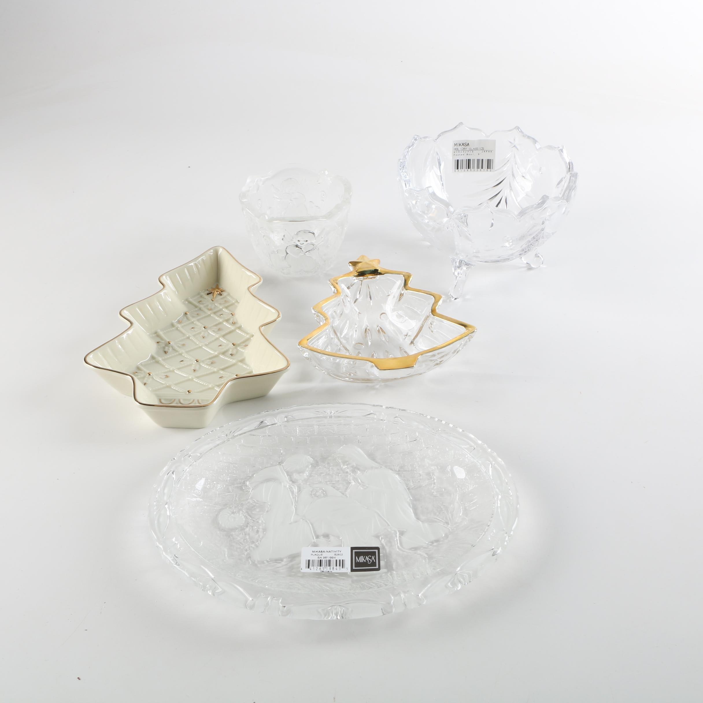 Christmas Tableware Including Mikasa and More