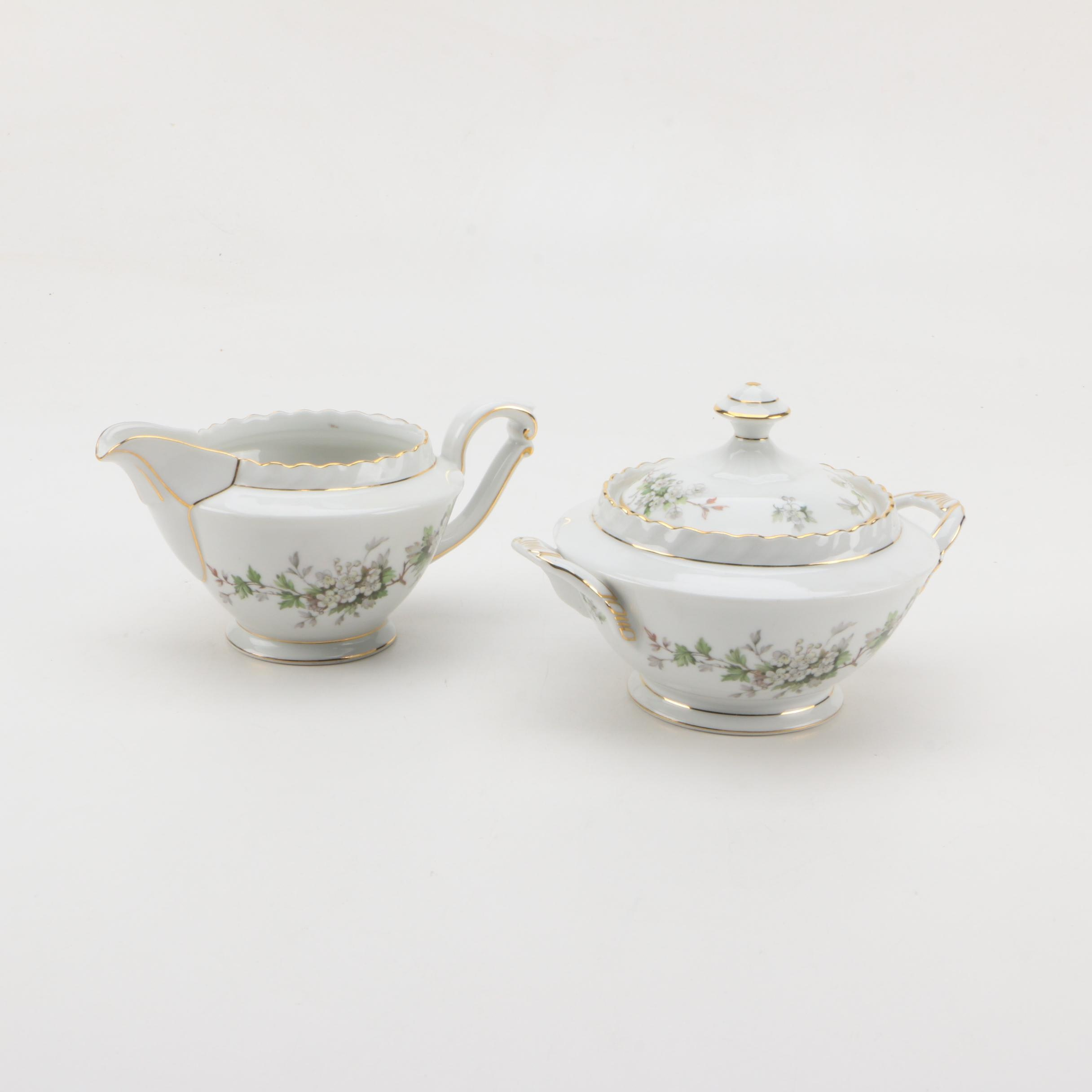 """1964-77 Krautheim """"Hawthorn"""" Porcelain Serveware"""
