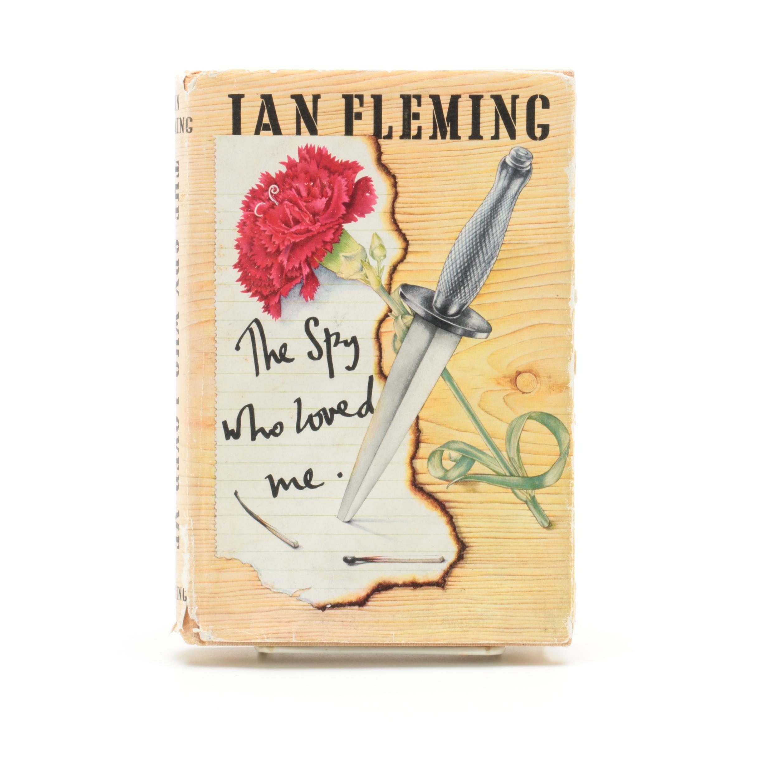 "1962 Second Printing ""The Spy Who Loved Me"" by Ian Fleming"