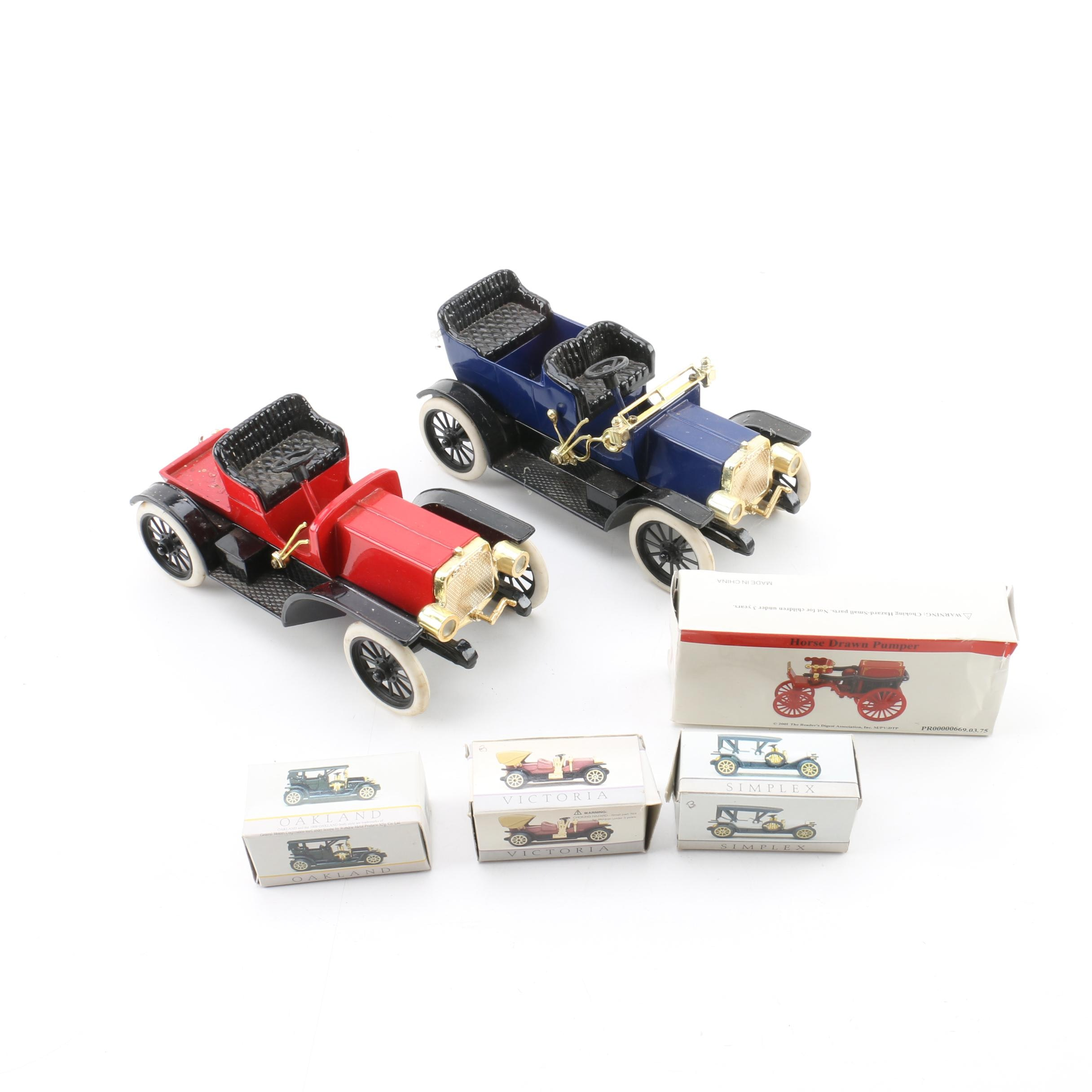 Die-Cast Scale Replica Antique Cars