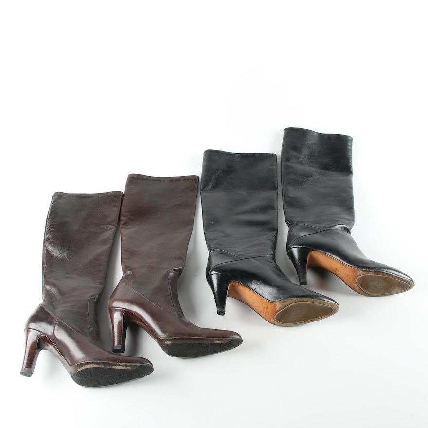 635c31294d7 Women s High Heel Leather Boots Including Cole Haan   EBTH