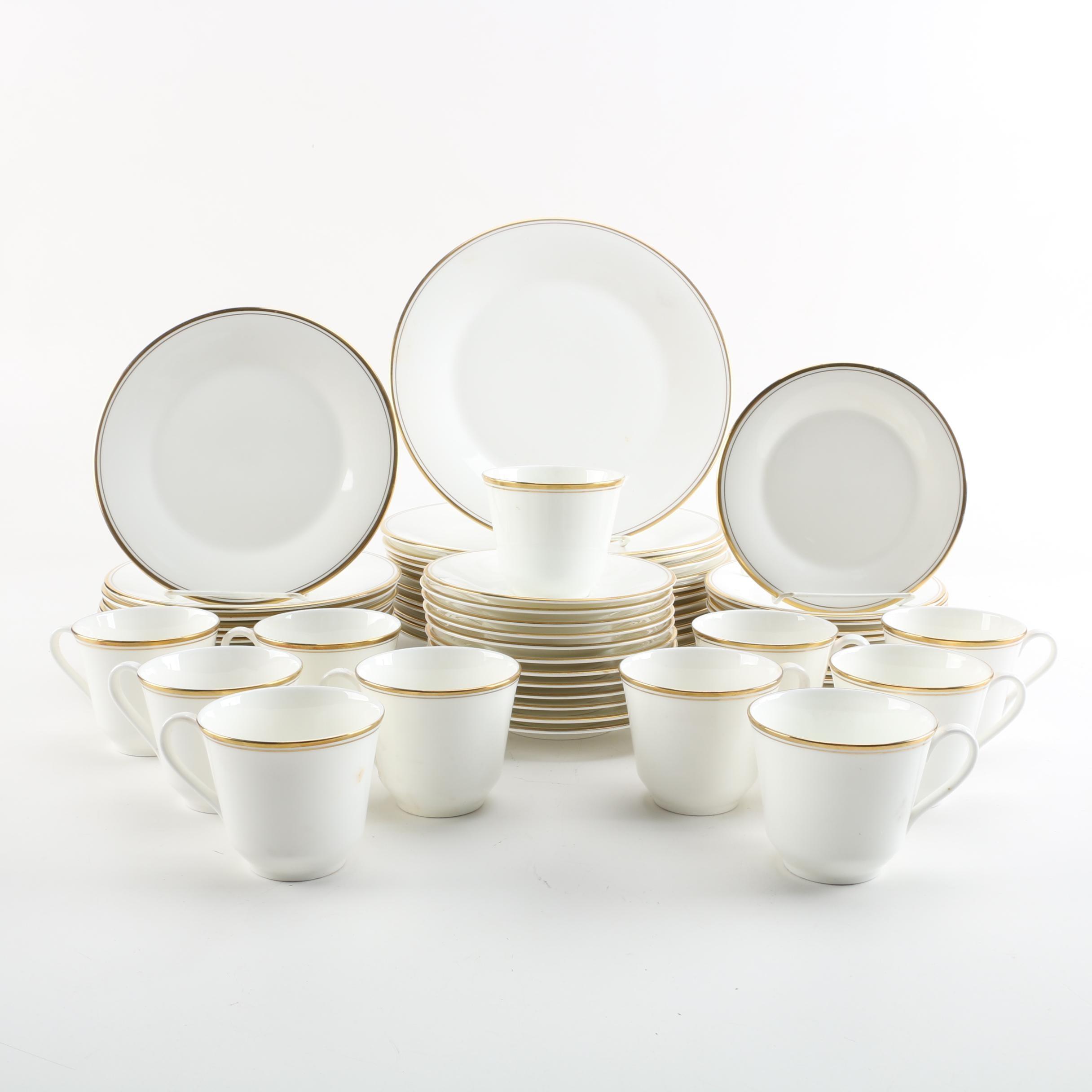 "Royal Doulton ""Gold Concord"" Dinnerware"