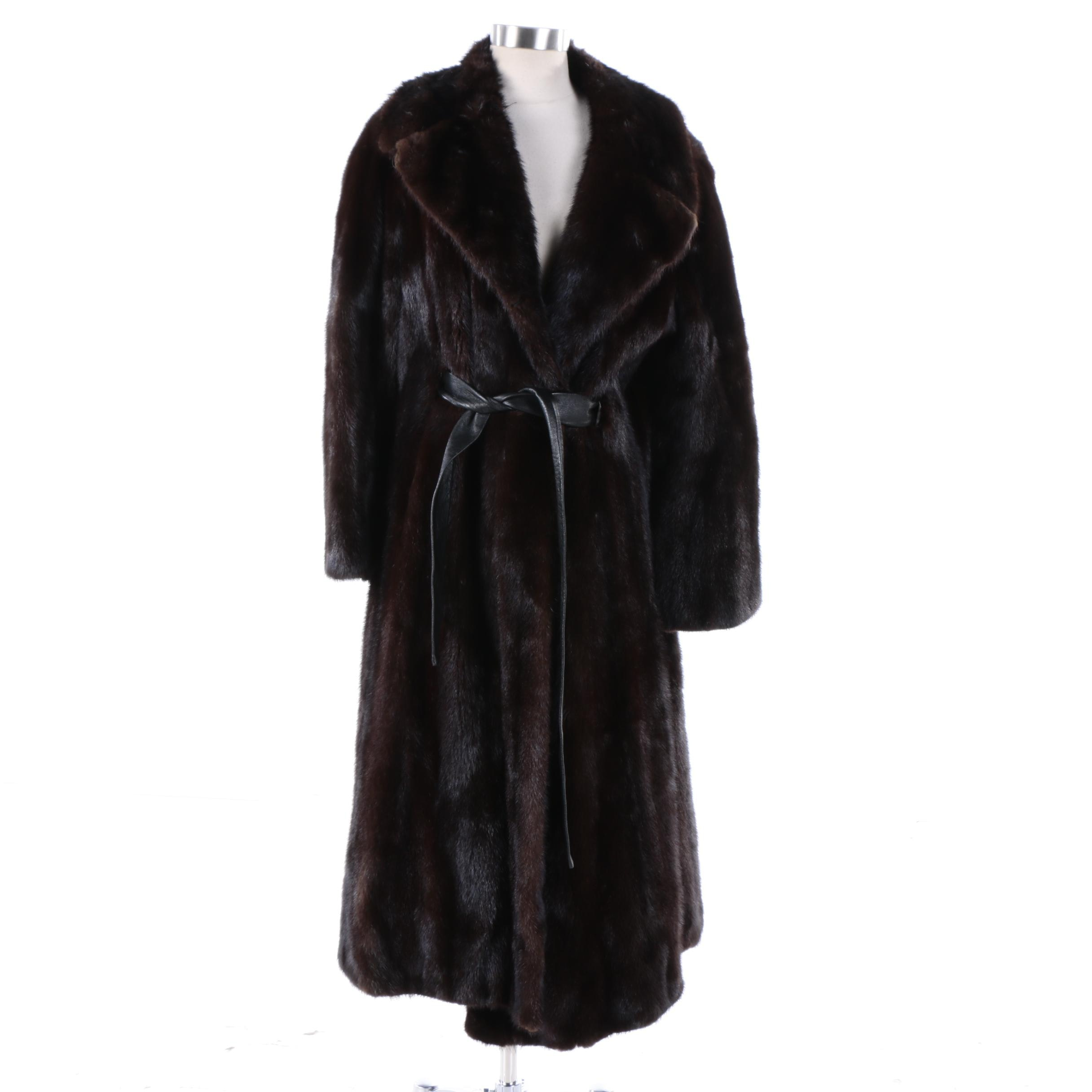 Women's Blackglama Mink Fur Coat