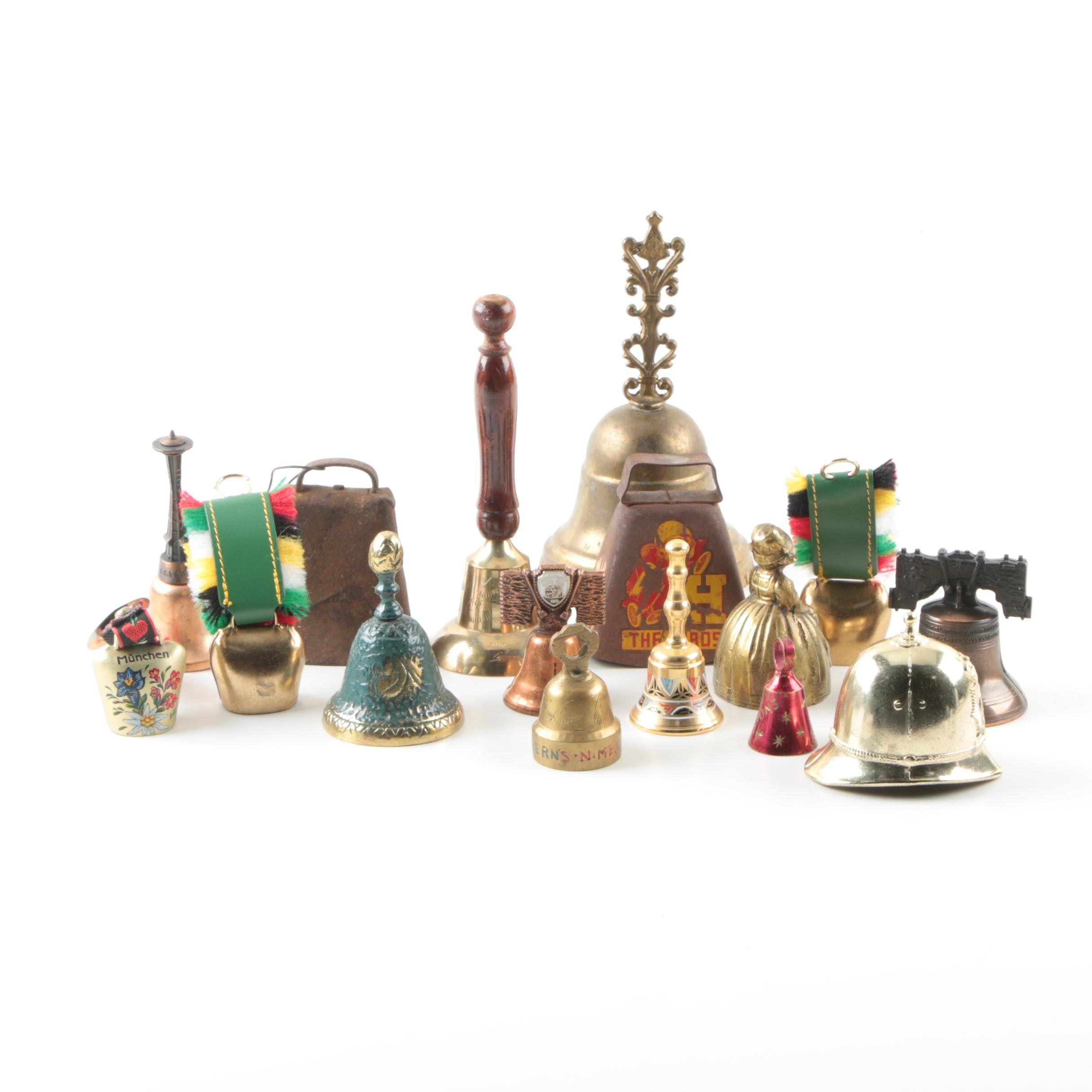 Collection of Hand Bells