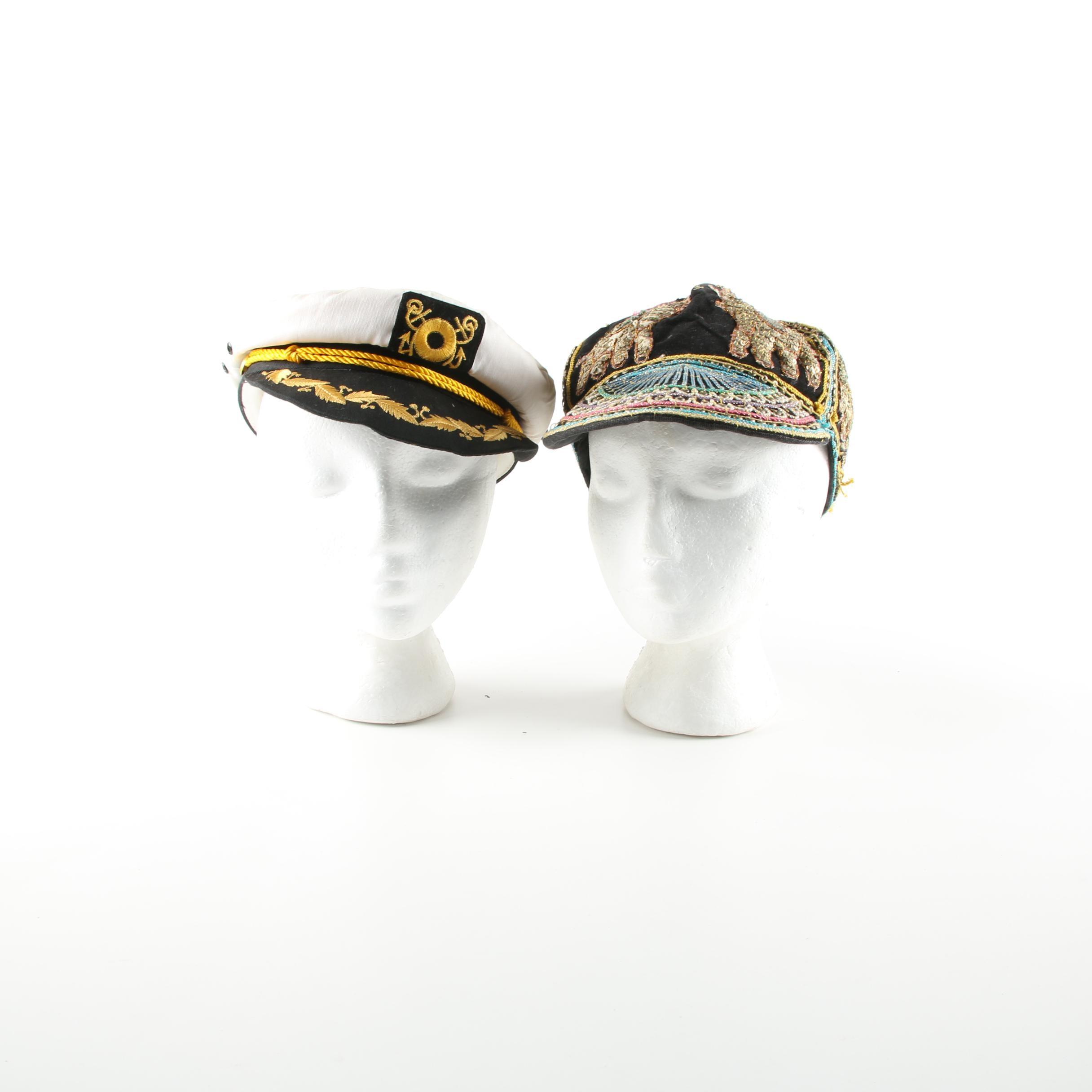 Vintage Sailor and Embellished Hats