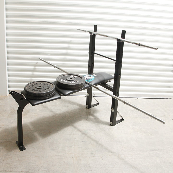 DP Fitness Weight Lifting Bench