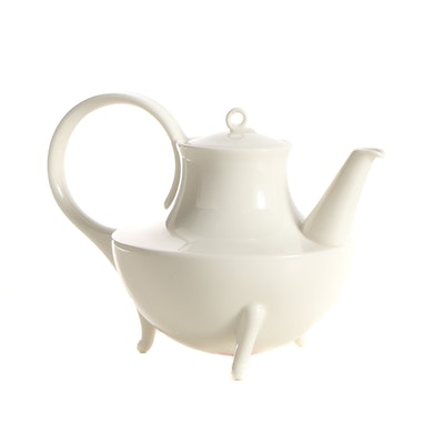 "Oscar Tusquets Blanca ""Victoria"" Porcelain Teapot"