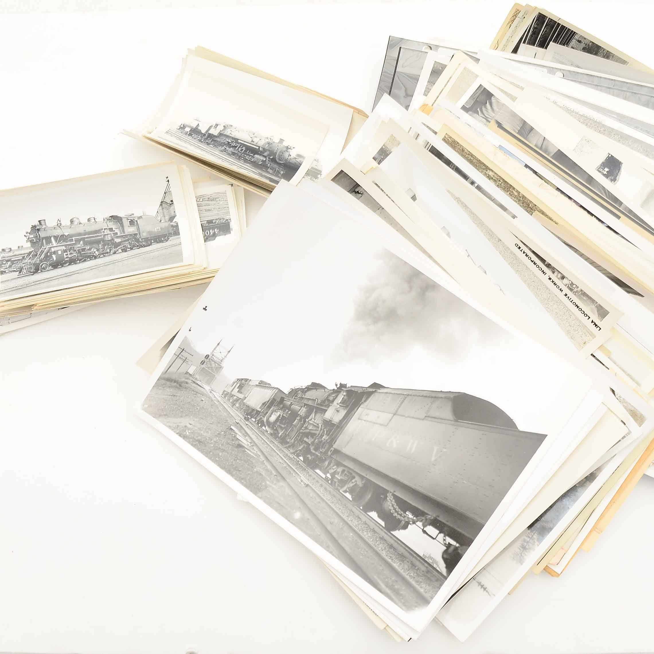 Collection of Vintage Railroad Photographs