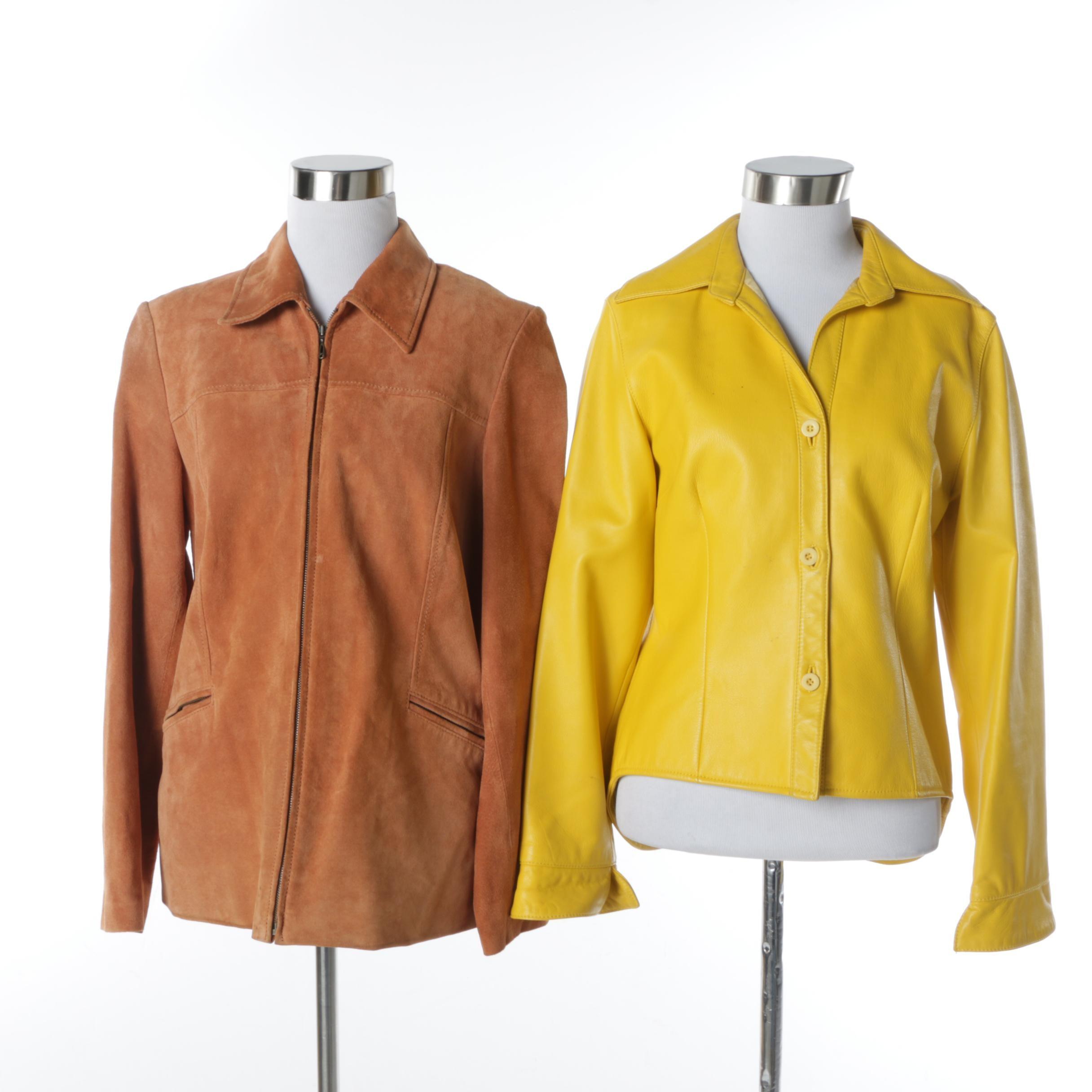 Women's Pendleton and Nicola Berti Leather Jackets