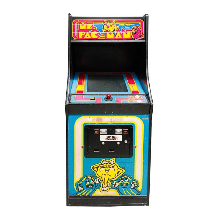 """Ms. Pac-Man"" Arcade Cabinet"