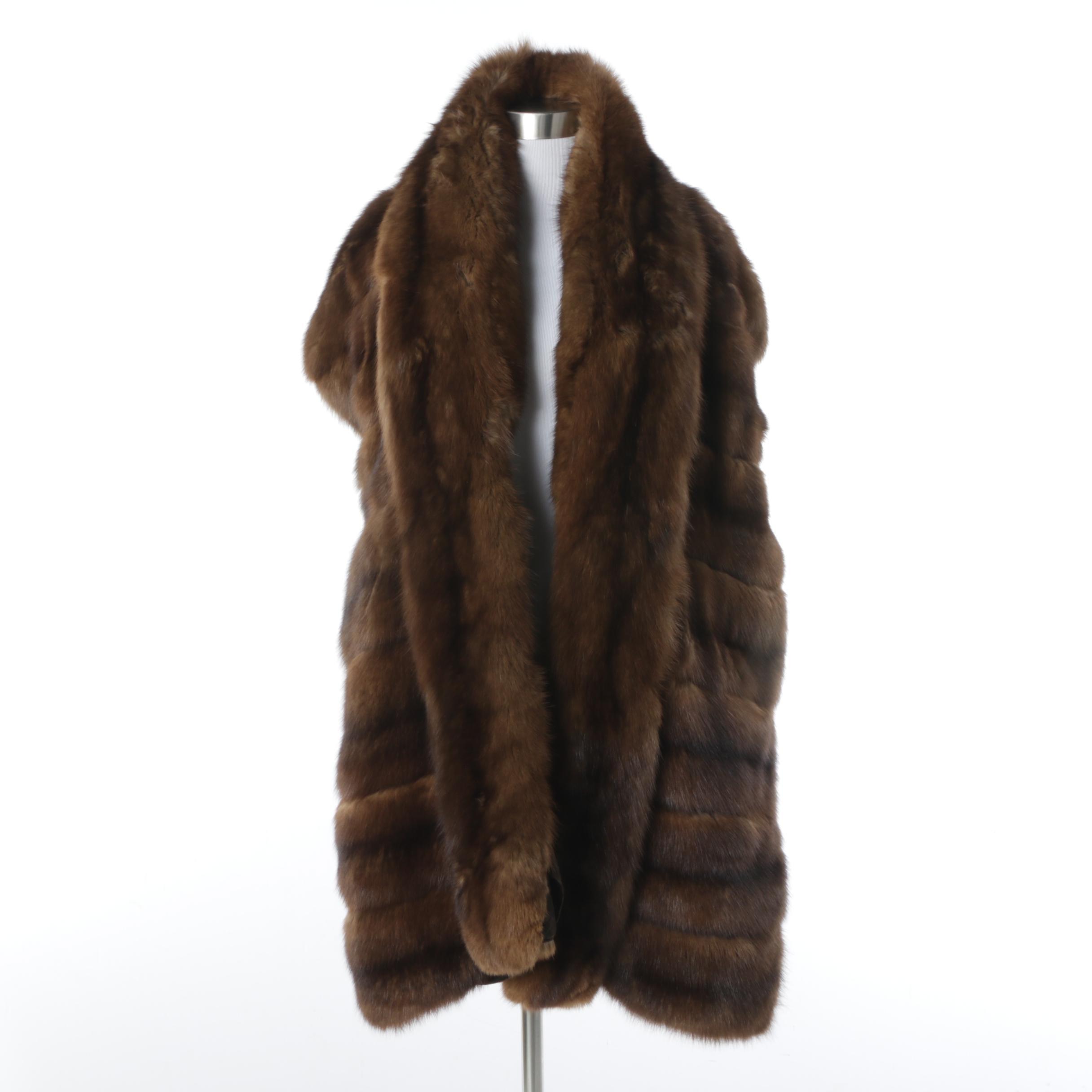 Marten Fur Wrap
