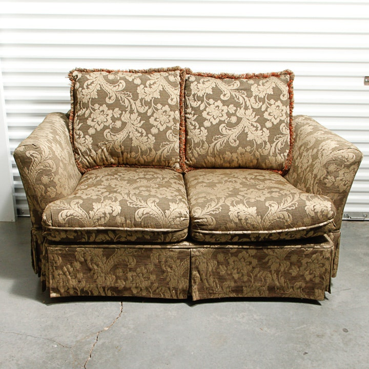 Upholstered Love Seat by Haverty Furniture