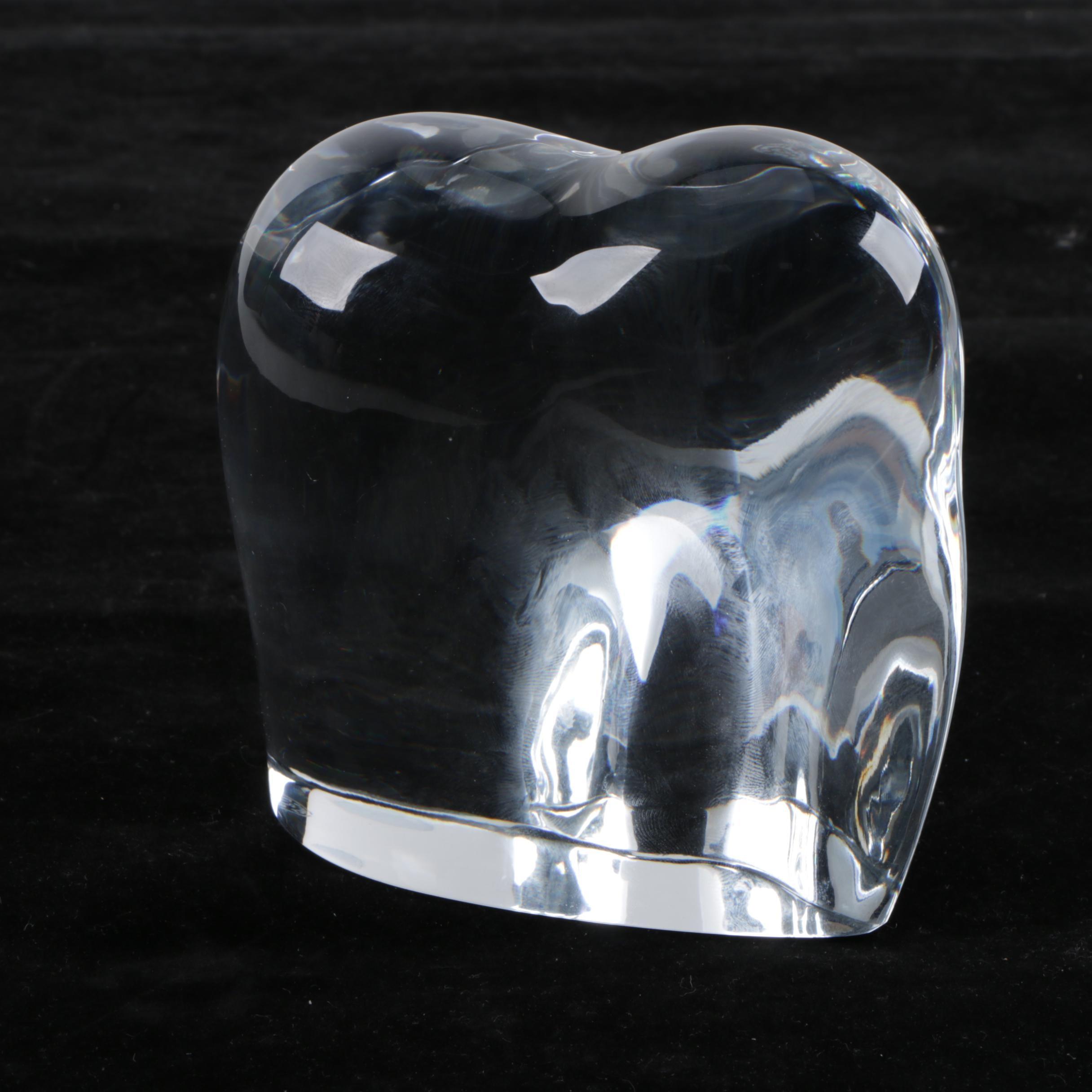 "Baccarat Crystal ""Asian Elephant"" Figurine"