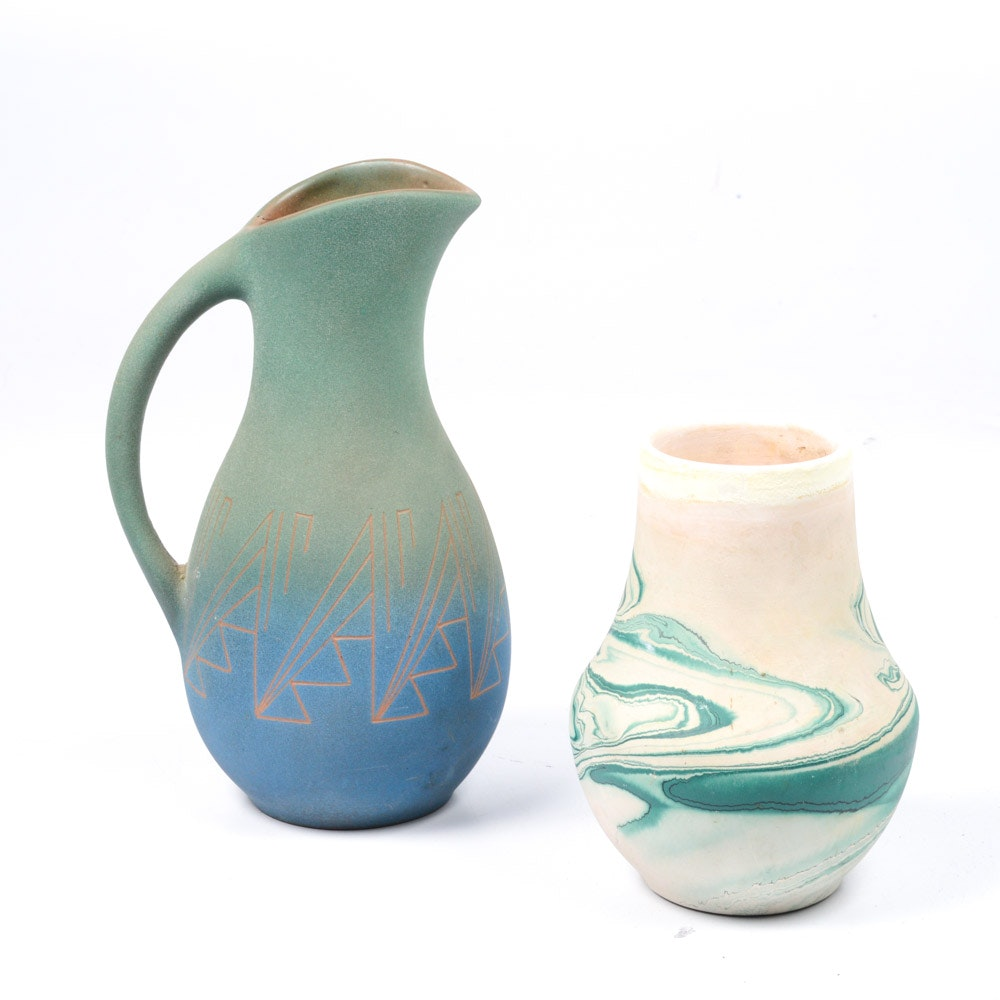 Artisan Pottery Featuring Nemadji