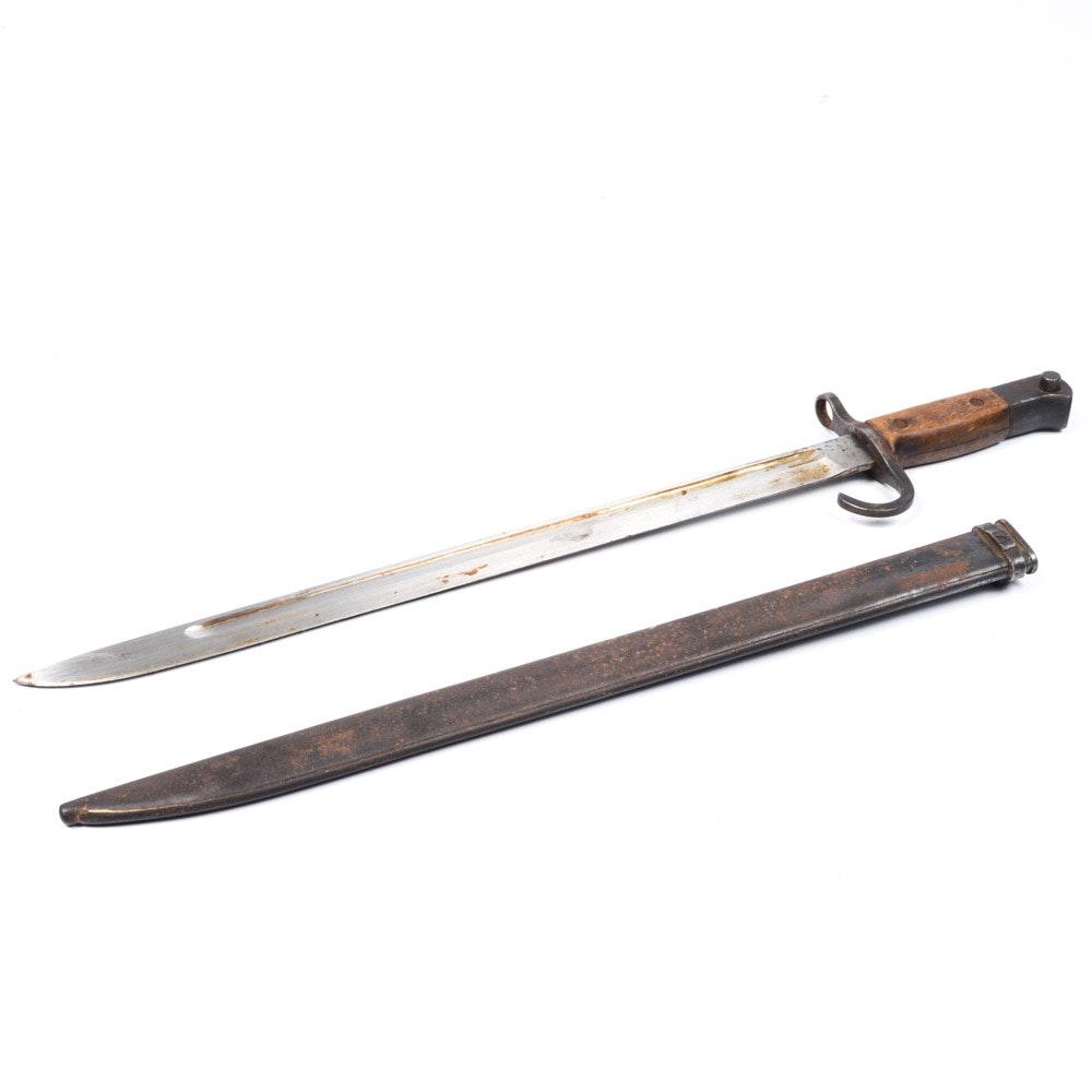 Vintage Rifle Bayonet